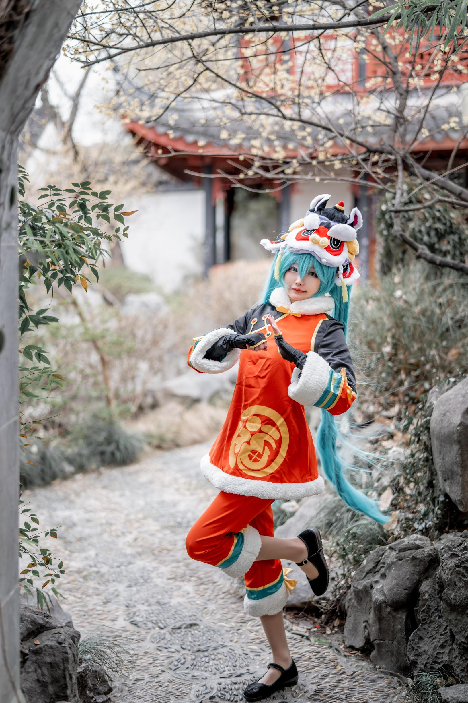 《VOCALOID》正片cosplay【CN:_天小然_】-第6张