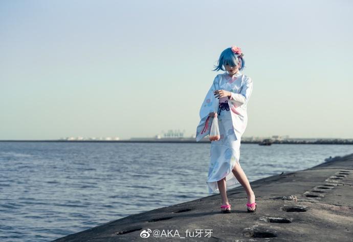Re:从零开始的异世界生活   蕾姆  浴衣   @AKA_fu牙牙 (9P)-第4张