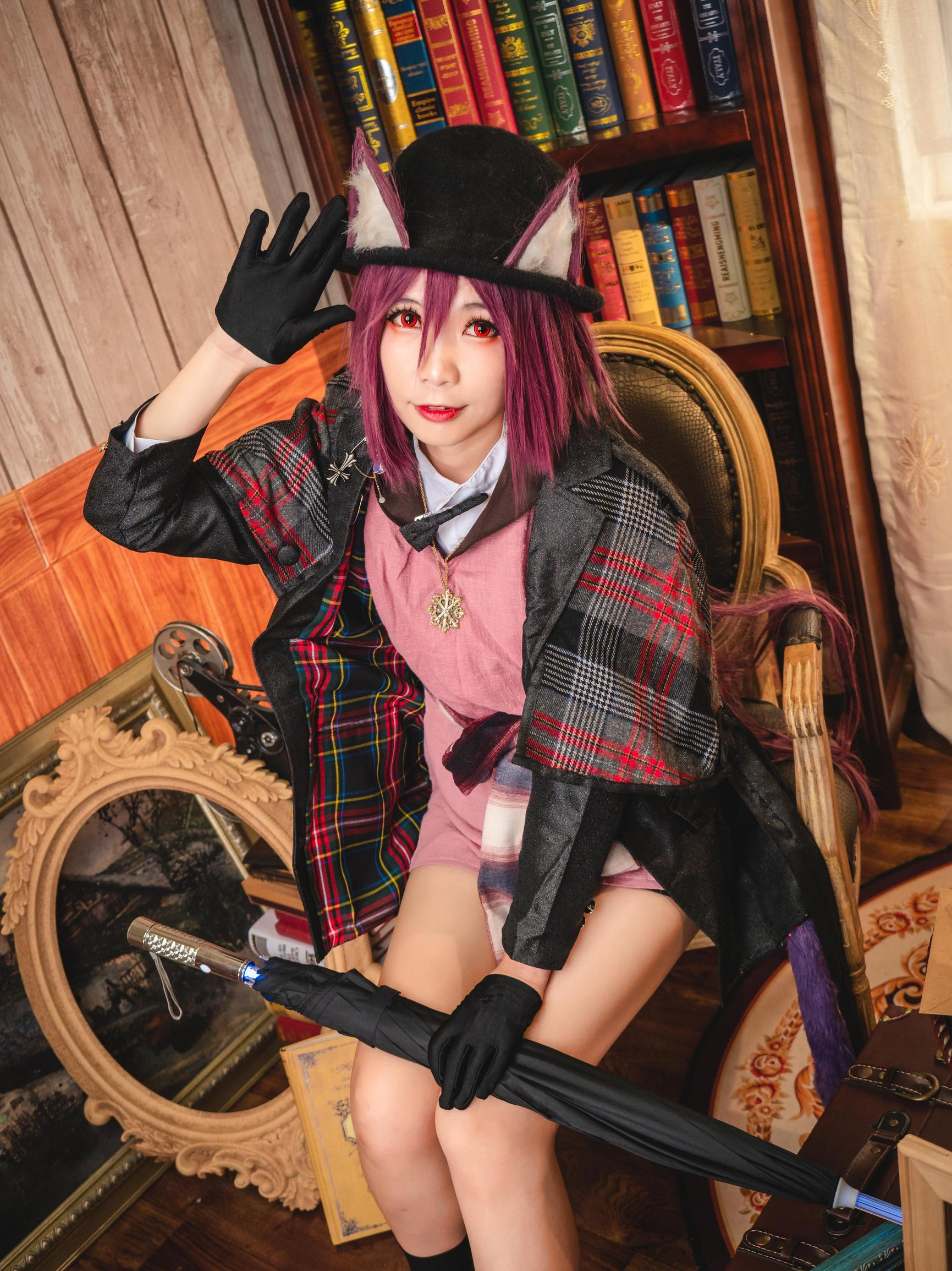 《明日方舟》剑圣cosplay【CN:海鲜君】-第5张