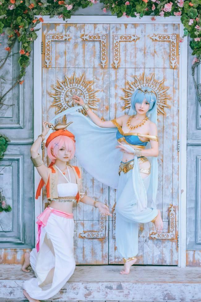 蕾姆/拉姆COS【CN:神本无尾】 (7P)-第4张