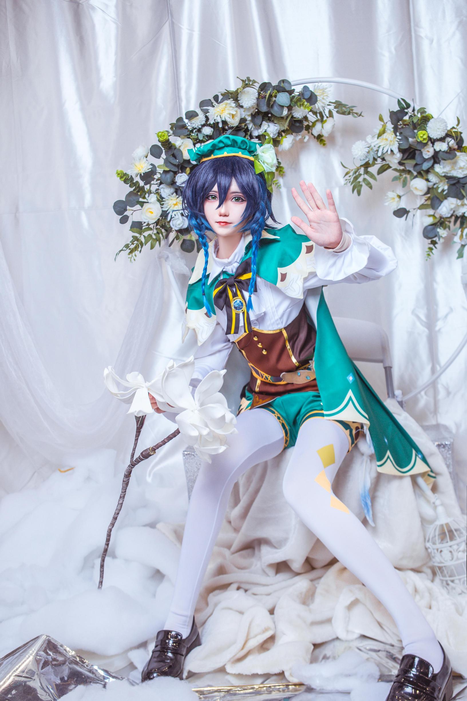 《原神》巴巴托斯cosplay【CN:南千鲤Akirui】-第6张