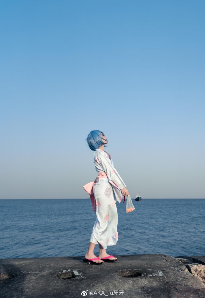 Re:从零开始的异世界生活   蕾姆  浴衣   @AKA_fu牙牙 (9P)-第7张