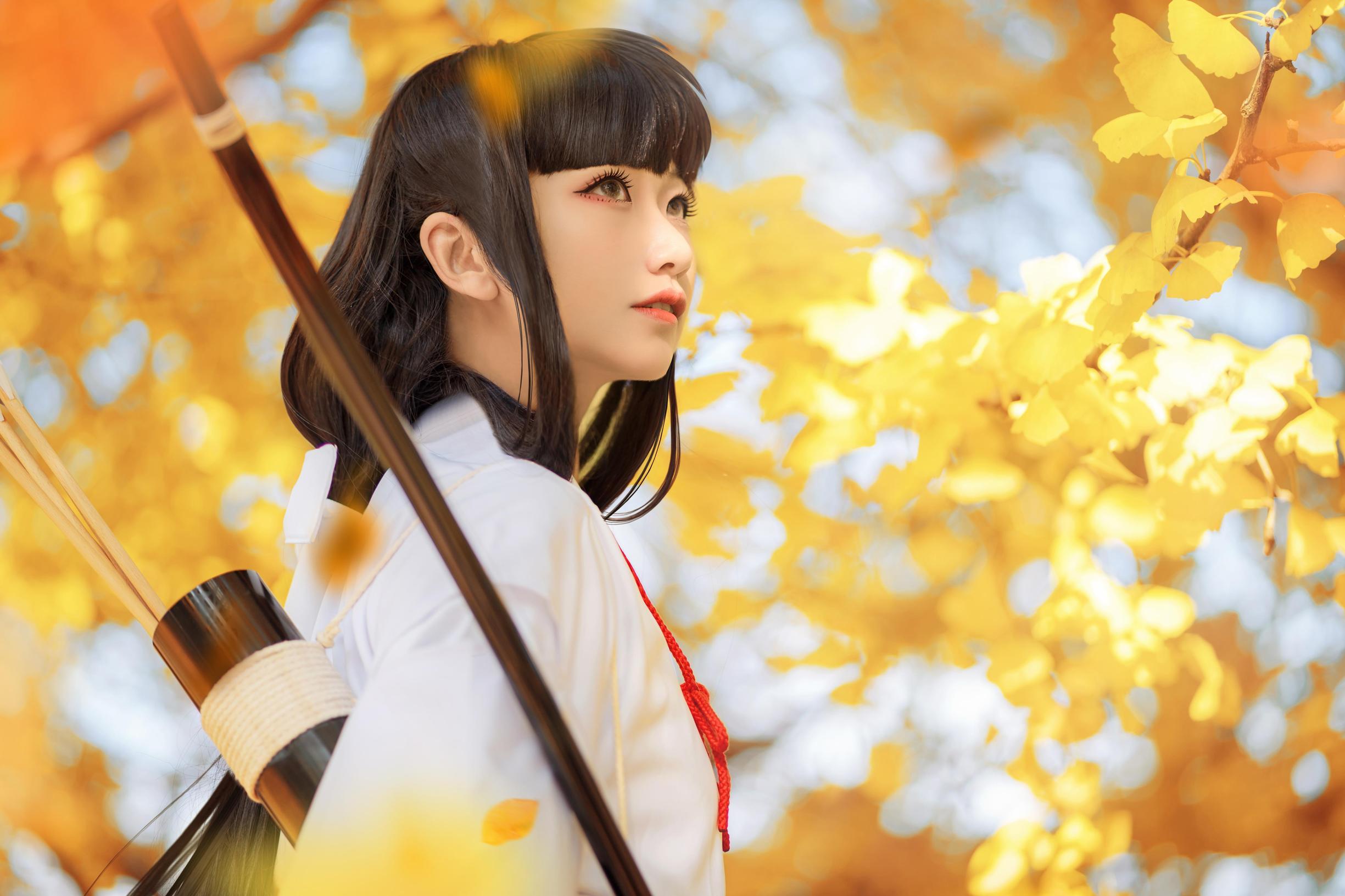 《犬夜叉》桔梗cosplay【CN:风眠眠w】-第2张