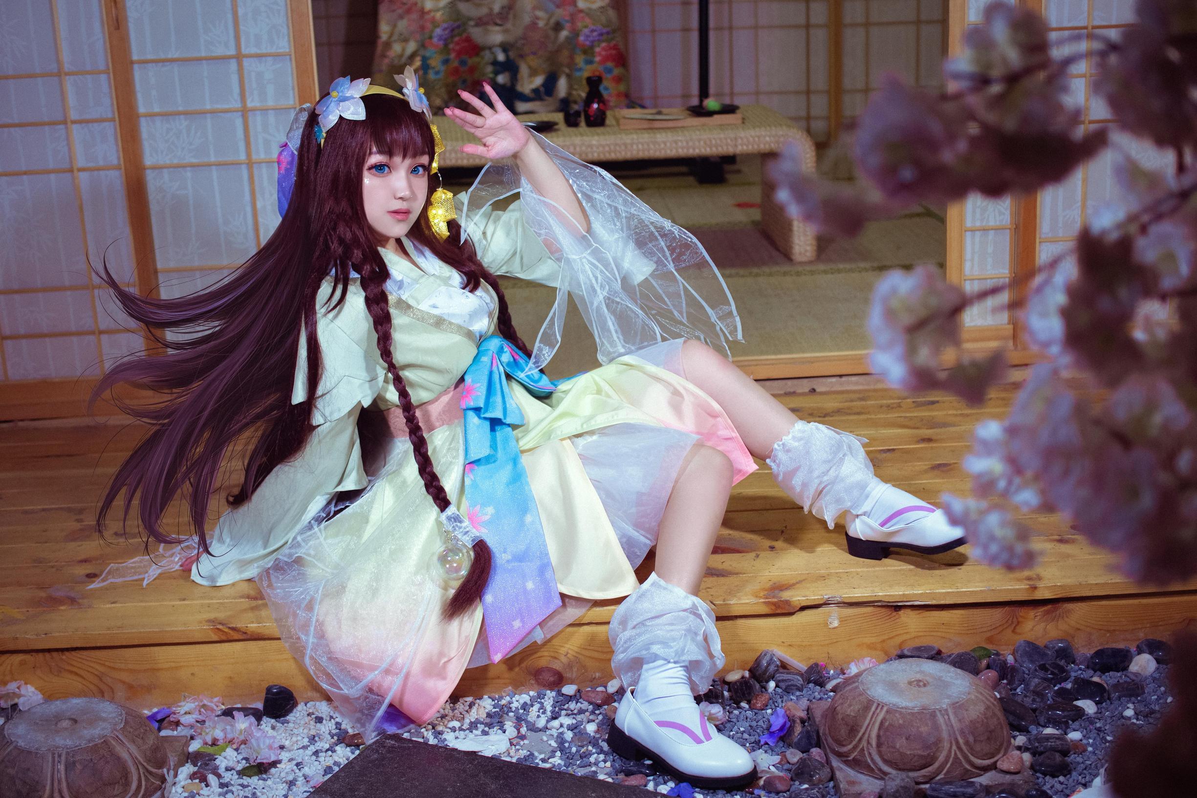 《王者荣耀》娜可露露cosplay【CN:草莓味的南辞】-第4张