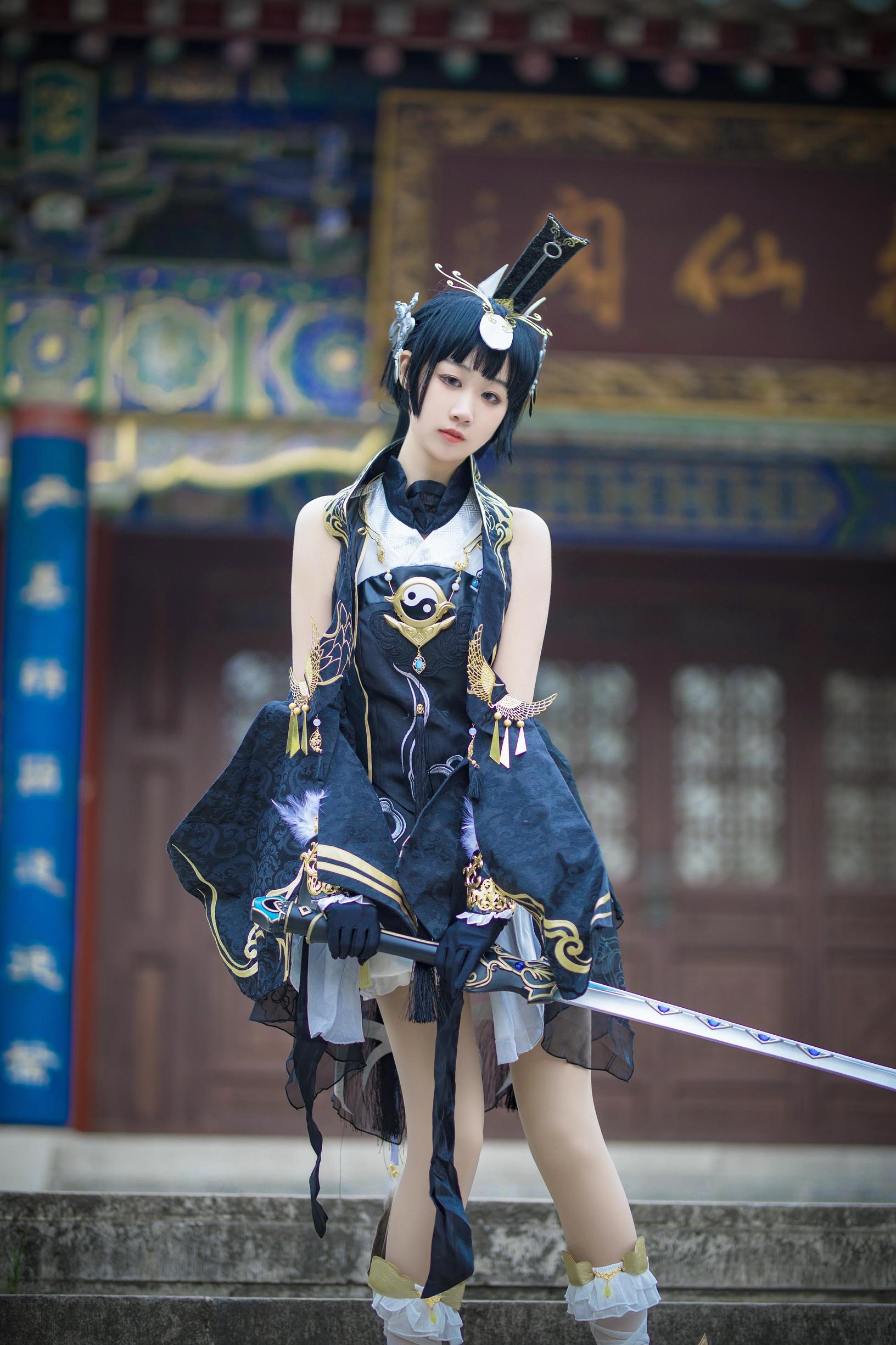 《剑侠情缘网络版叁》剑三cosplay【CN:寄辞于鱼_】-第11张