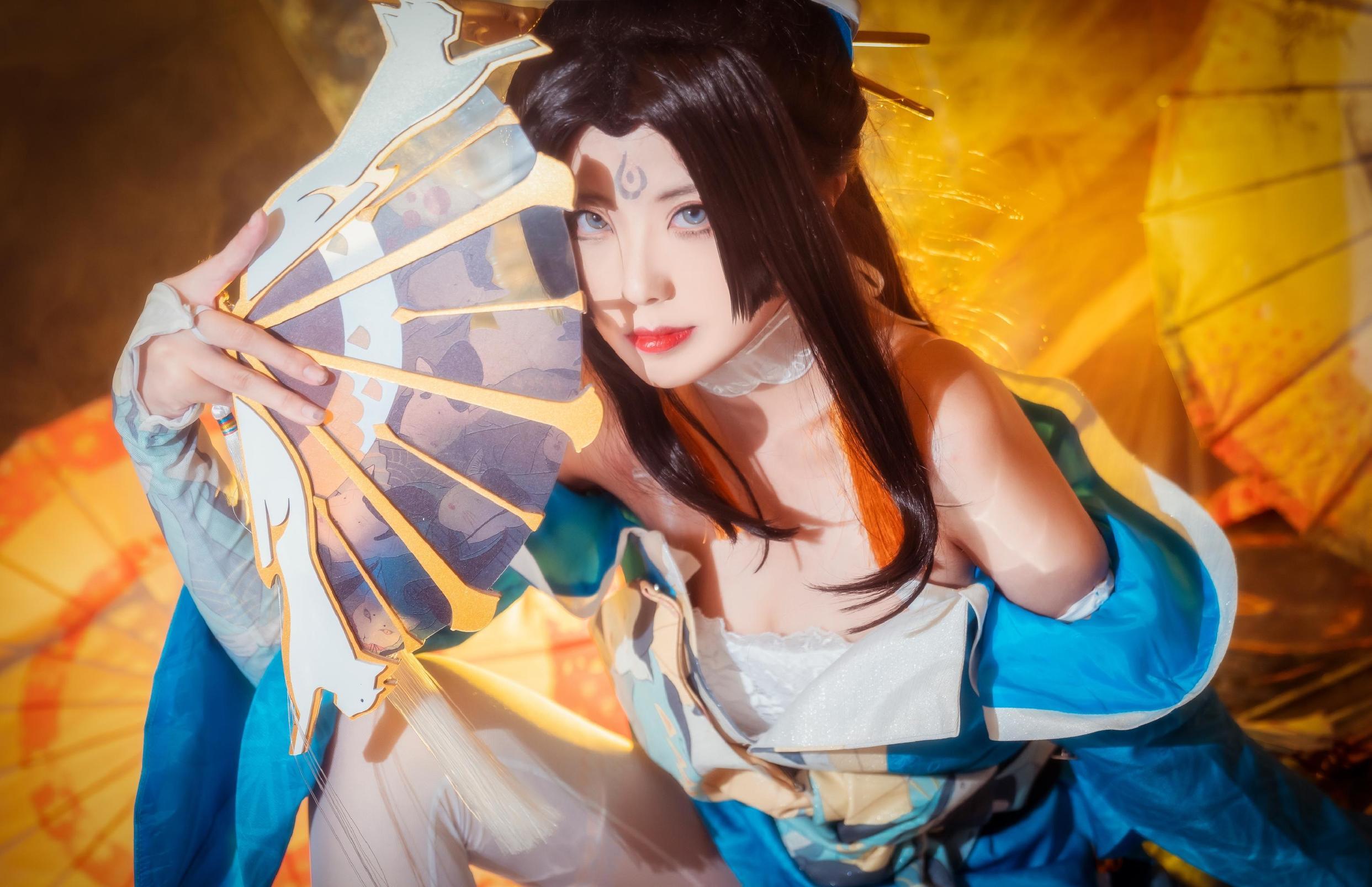 《王者荣耀》王者荣耀不知火舞cosplay【CN:nino家的橘子】 -英文cosplay女装图片插图