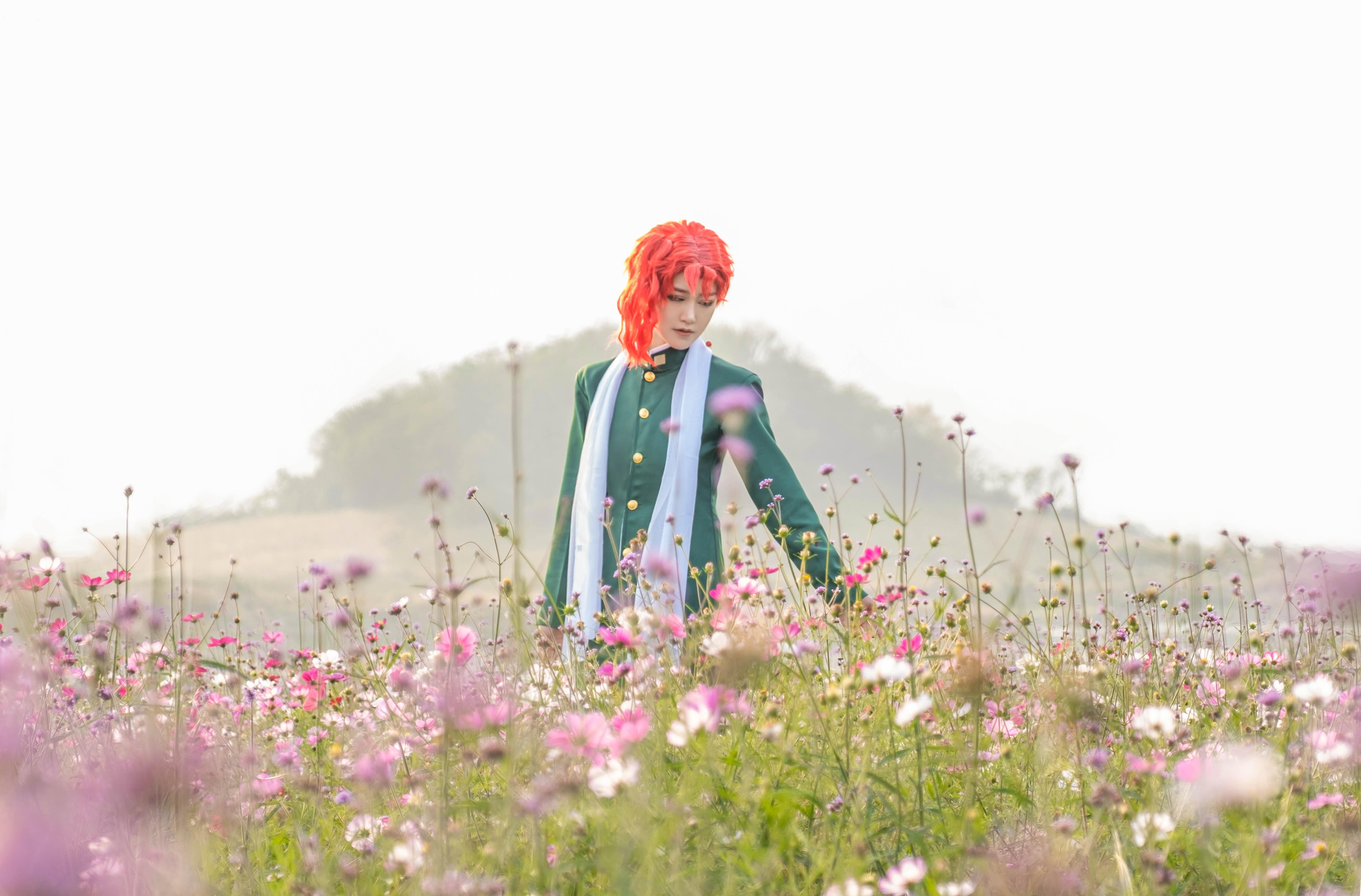 《JOJO的奇妙冒险》花京院cosplay【CN:司俊xi】-第11张
