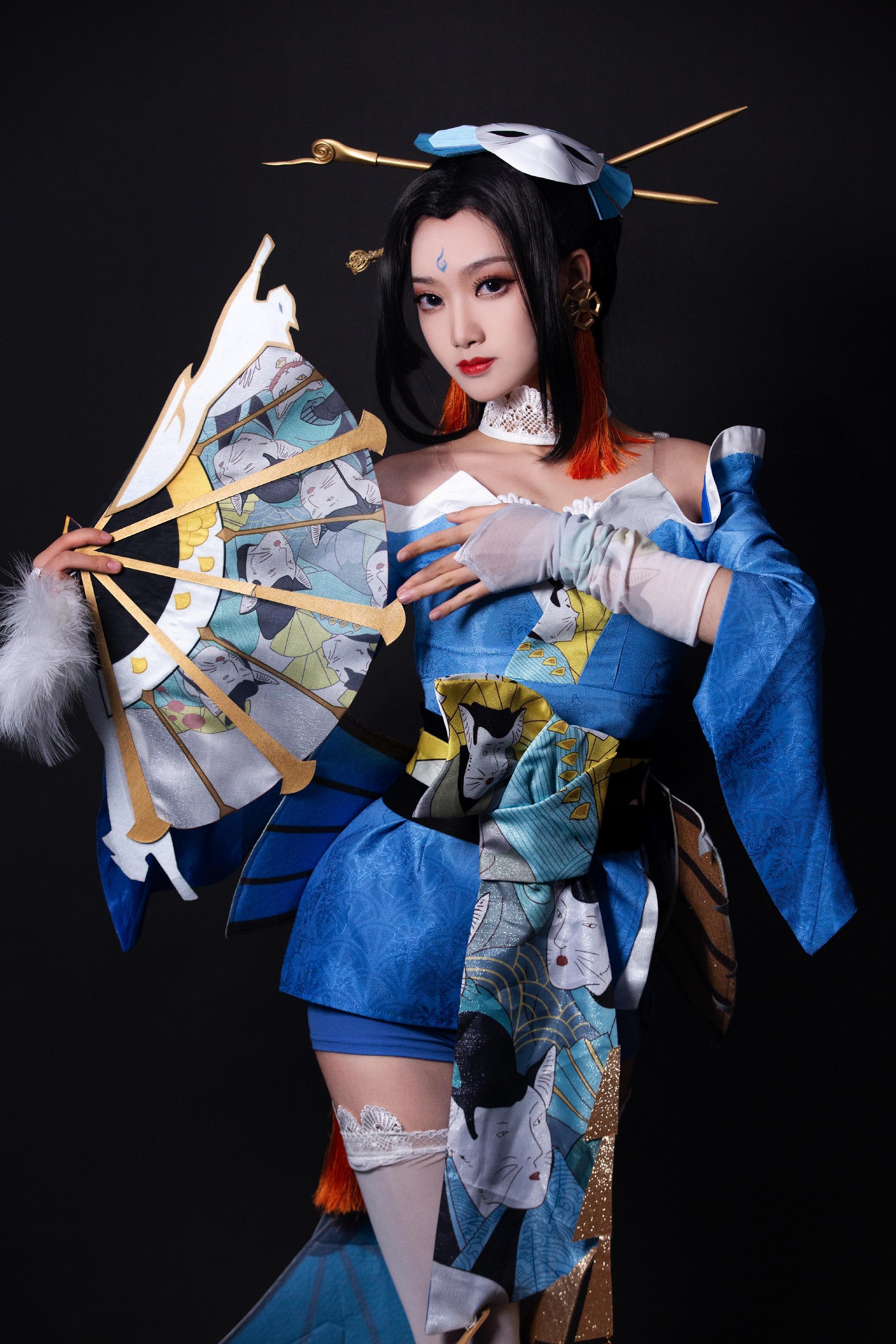《王者荣耀》约拍cosplay【CN:想要攻气满满的夏墨】-第1张