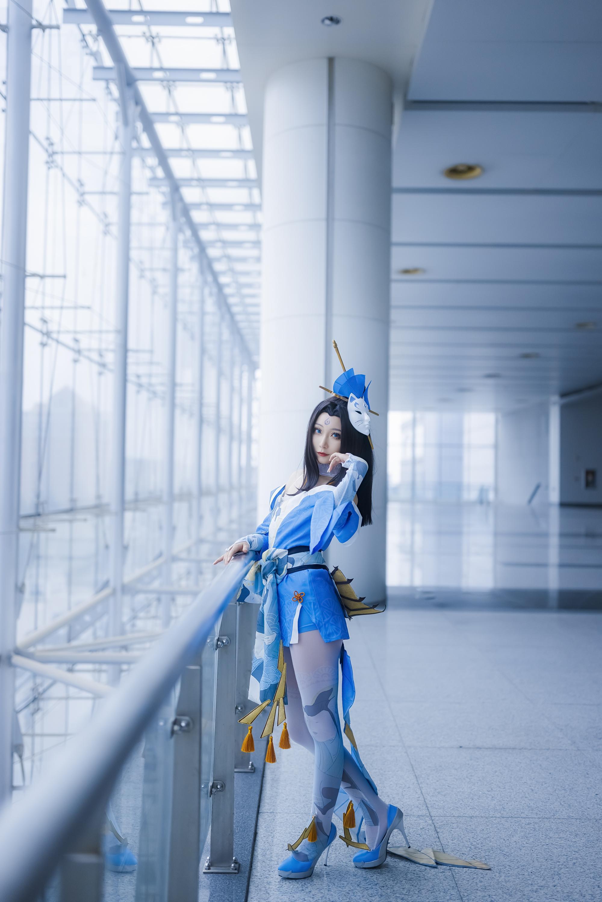 《王者荣耀》不知火舞cosplay【CN:kk蓝璃】-第8张