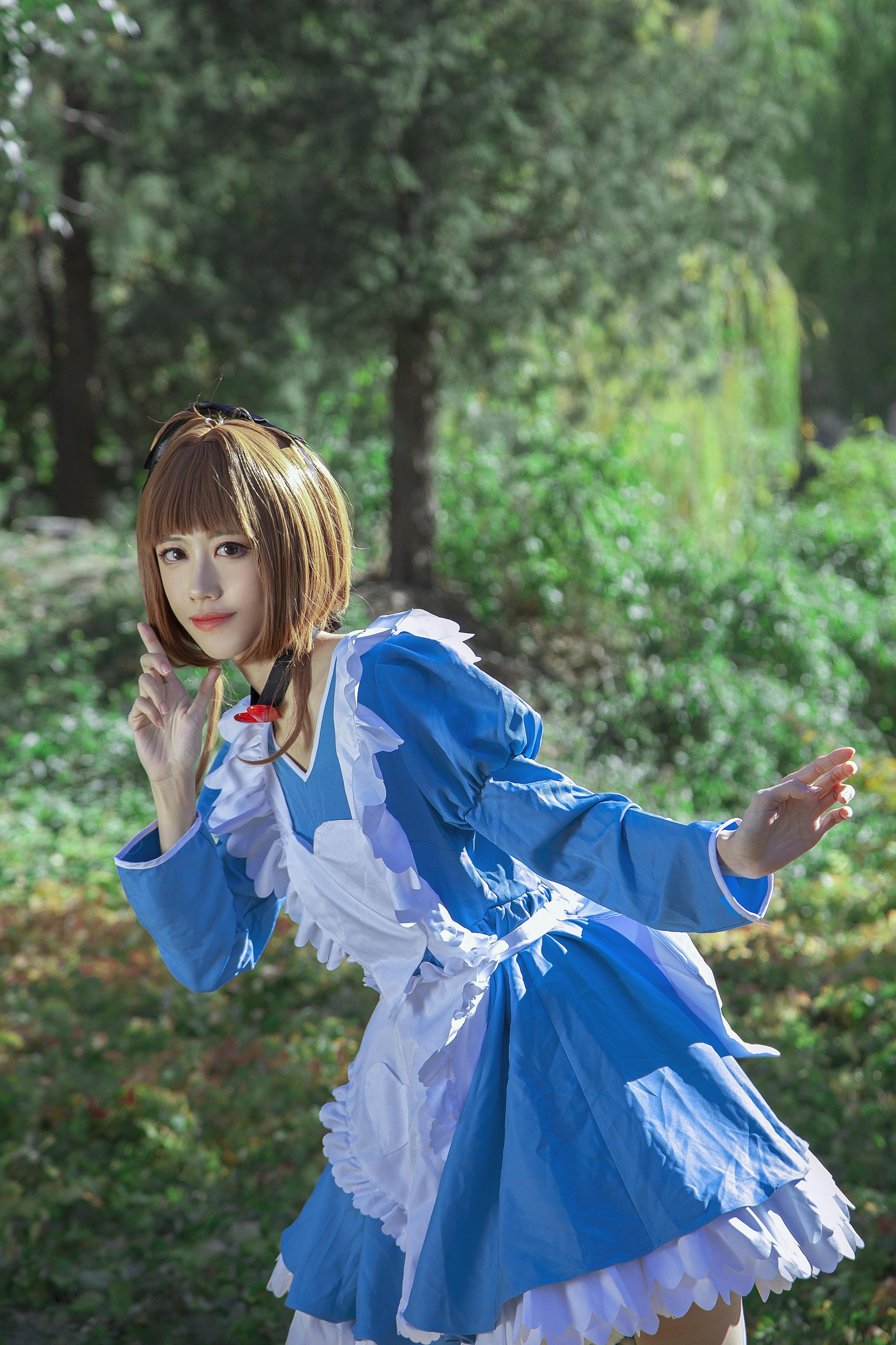 《魔卡少女樱》正片cosplay【CN:Coser_米饭】-第7张