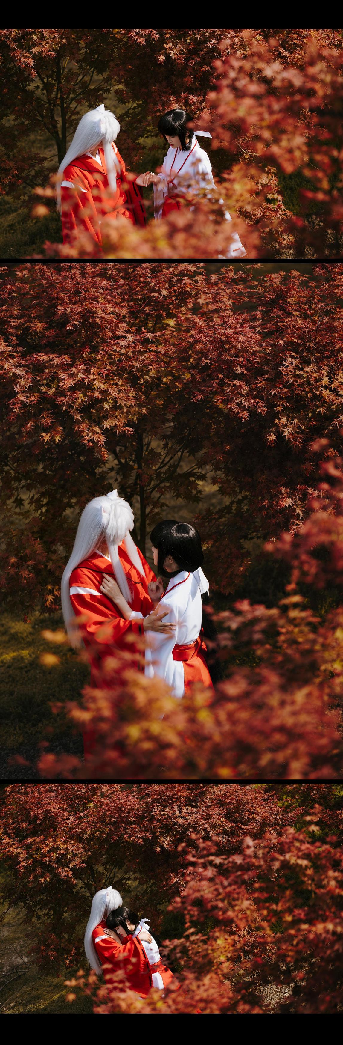 《犬夜叉》桔梗cosplay【CN:乱红】-第8张