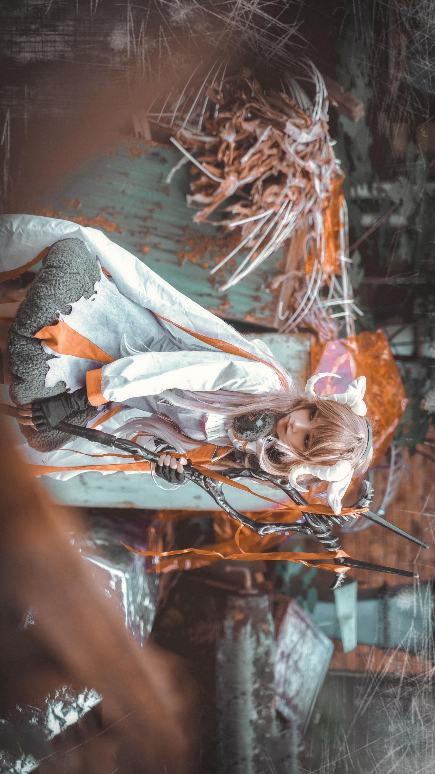 《明日方舟》小绵羊cosplay【CN:-cosplay皮带图片子刈-】 –插图