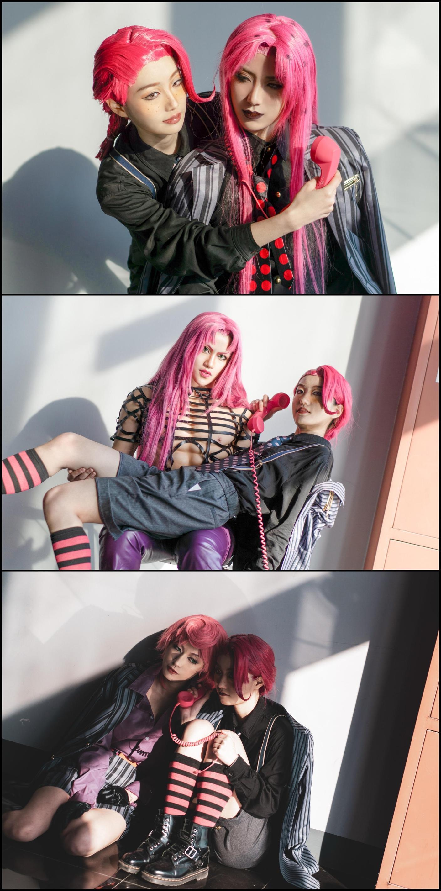 《JOJO的奇妙冒险》漫展cosplay【CN:约拉】-第3张