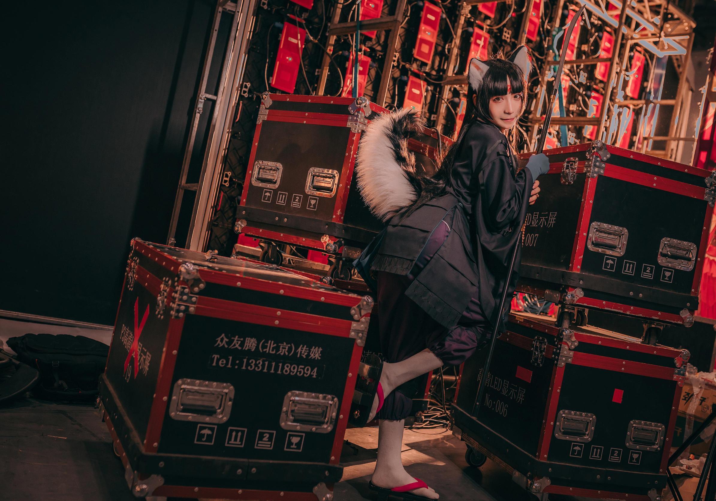《明日方舟》神还原cosplay【CN:COSER赤瞳_菌】-第6张