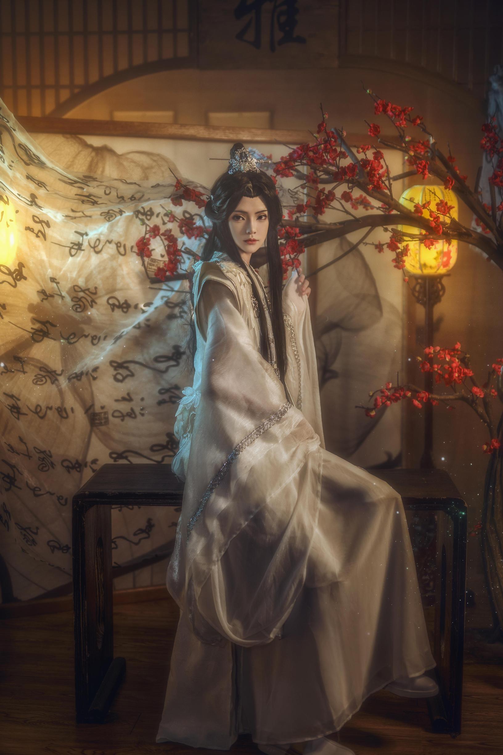 《二哈和他的白猫师尊》正片cosplay【CN:南渌Lin】-第3张