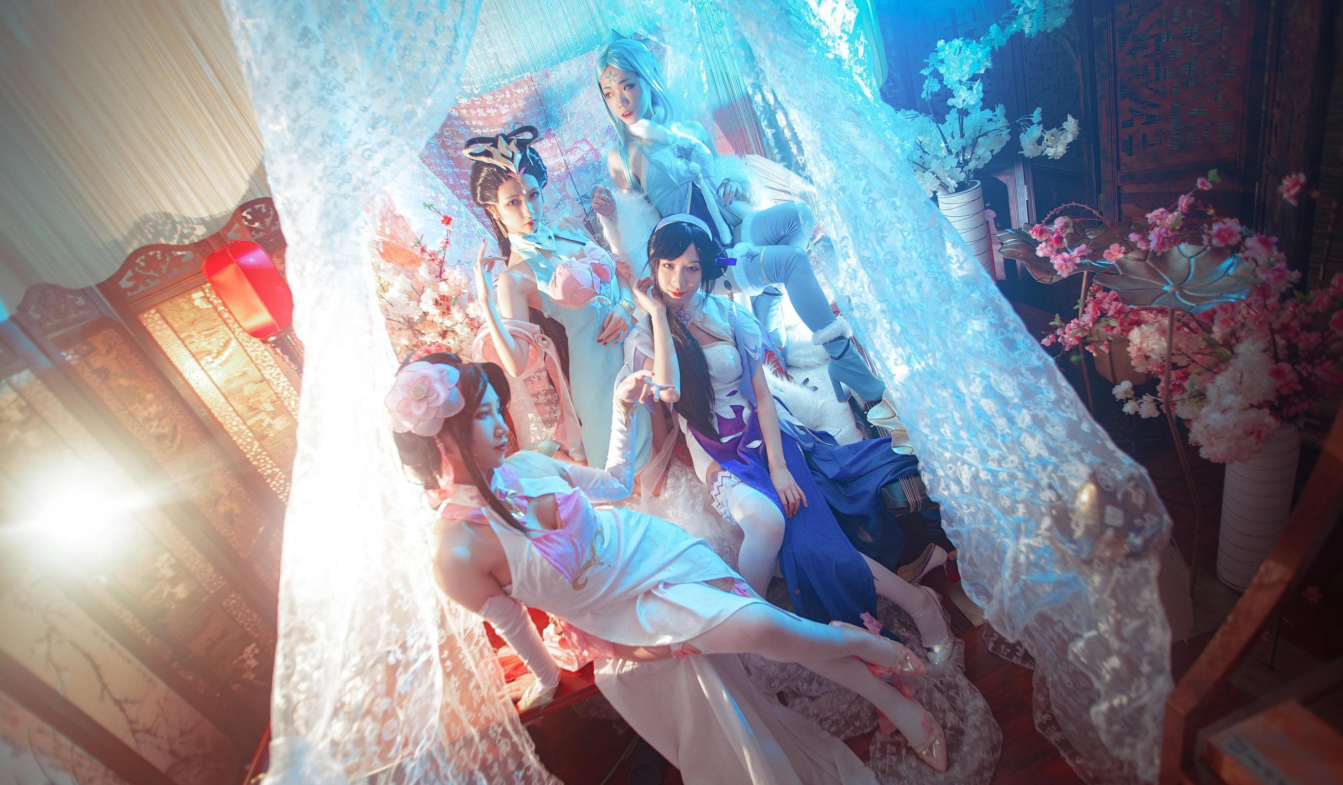 《王者荣耀》旗袍cosplay【CN:阿芷今天光合作用了吗】-第8张