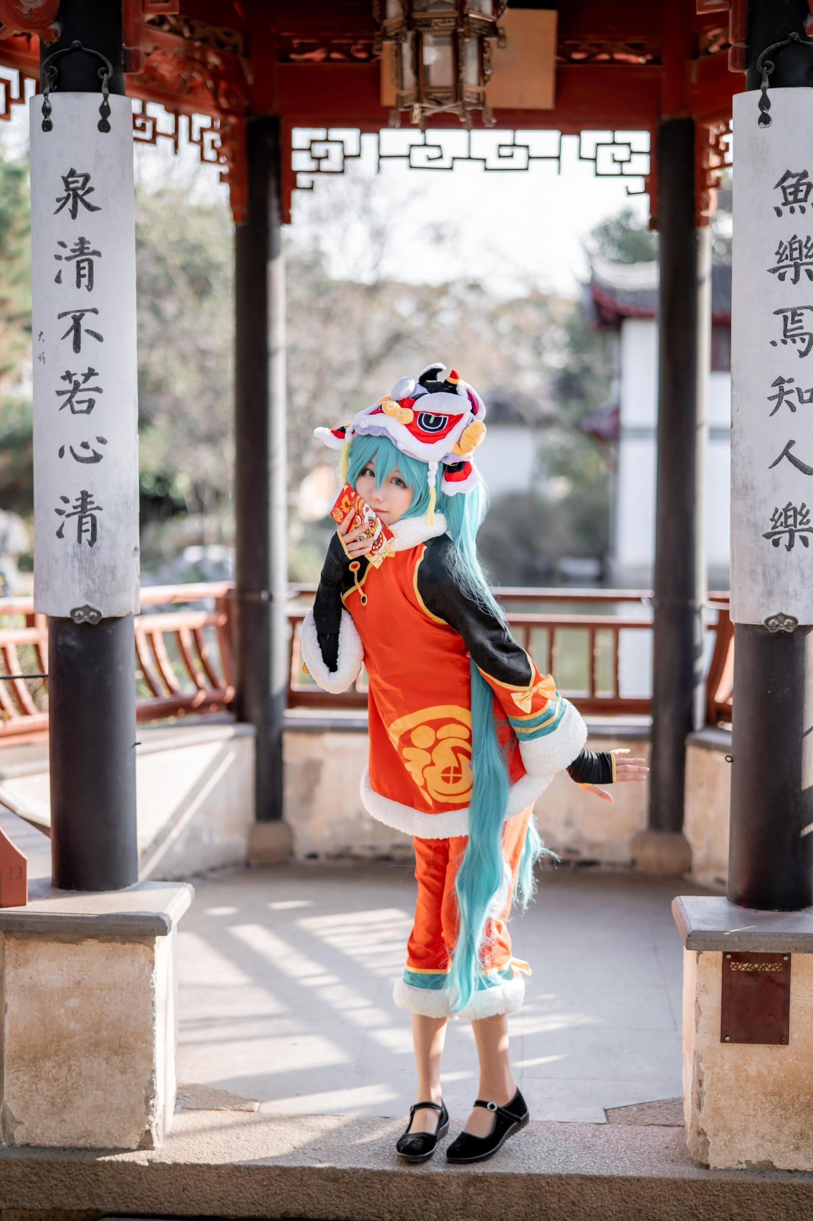 《VOCALOID》正片cosplay【CN:_天小然_】-第1张