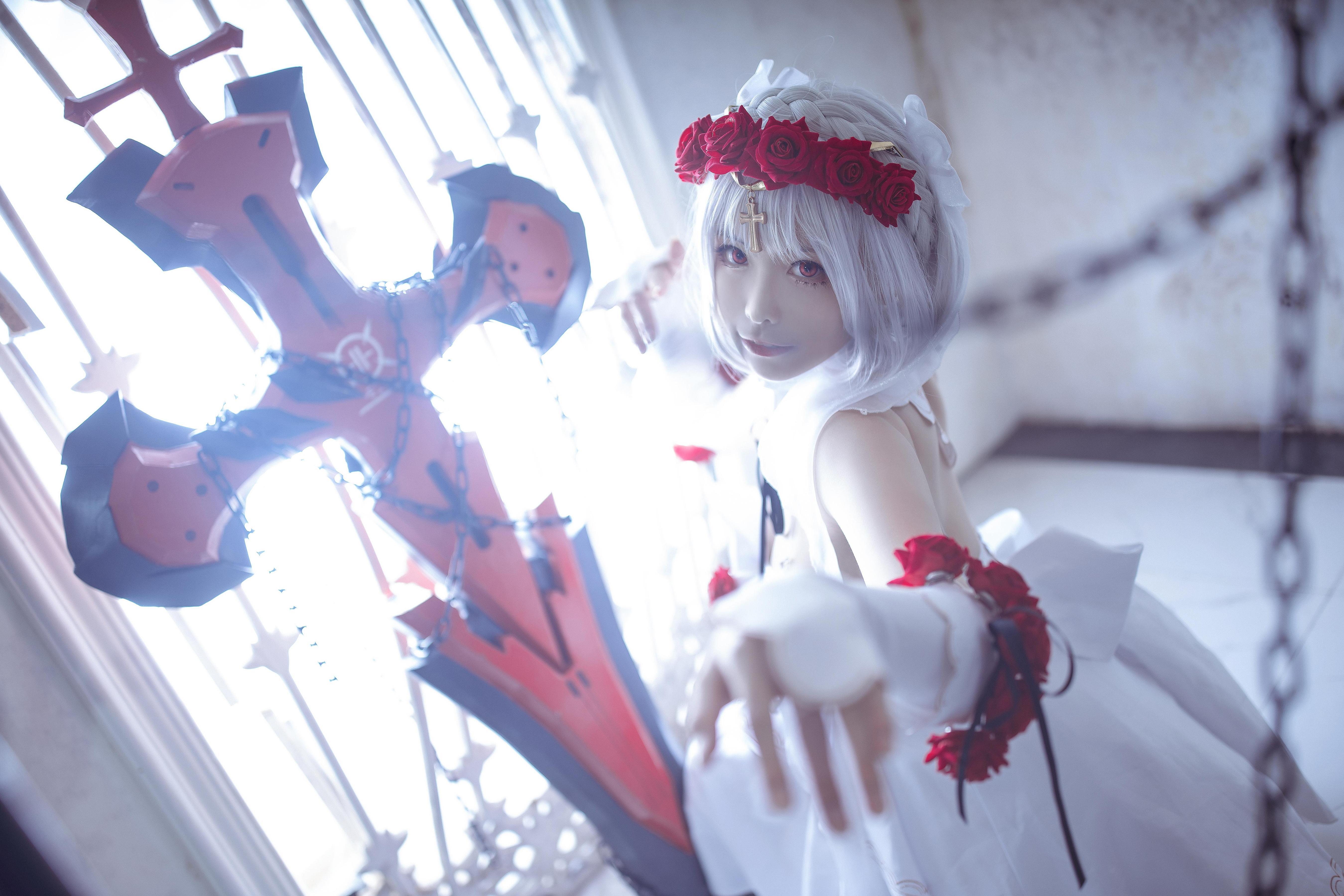 《崩坏学园》正片cosplay【CN:樱岛嗷一】-第7张