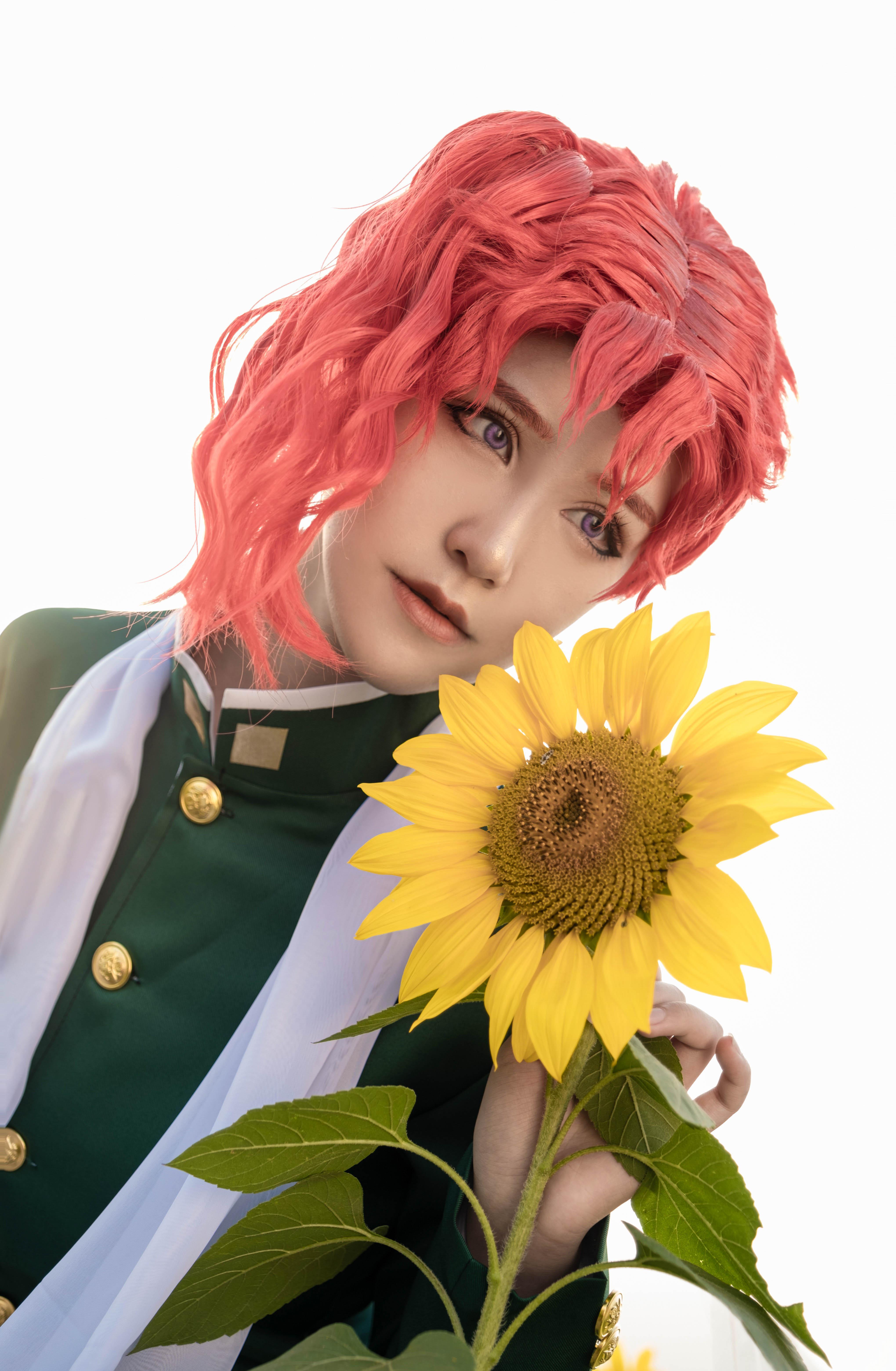 《JOJO的奇妙冒险》花京院cosplay【CN:司俊xi】-第8张