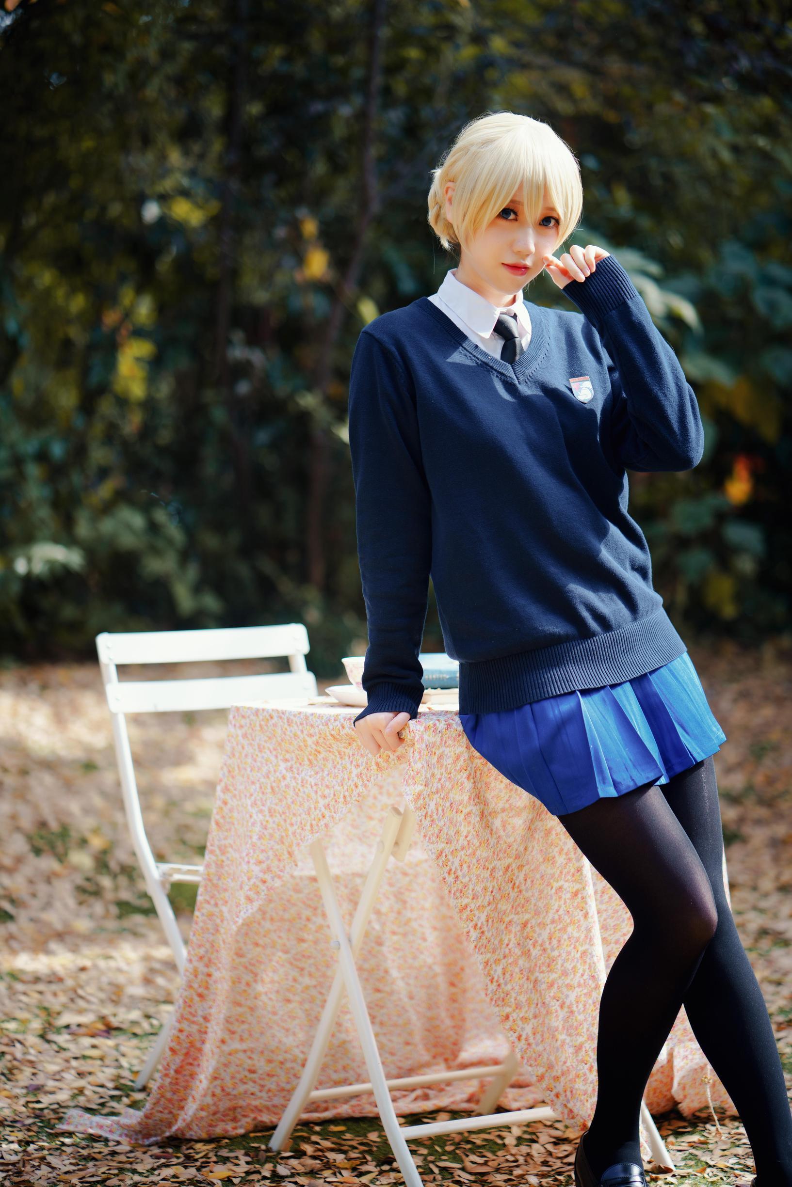 《少女与战车》正片cosplay【CN:Diii就是D】-第9张