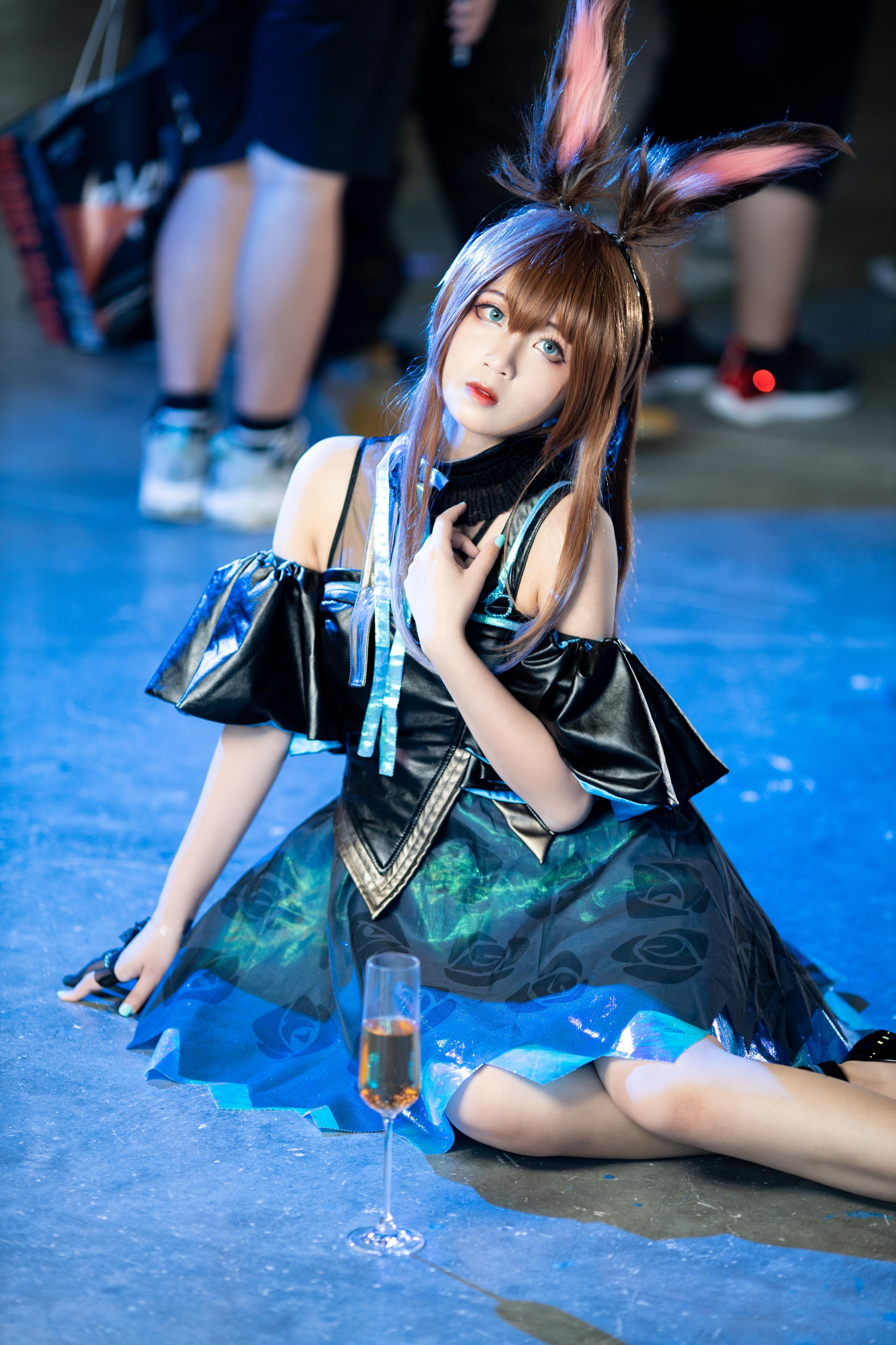 《明日方舟》明日方舟阿米娅cosplay【CN:双叶Futaba】-第4张