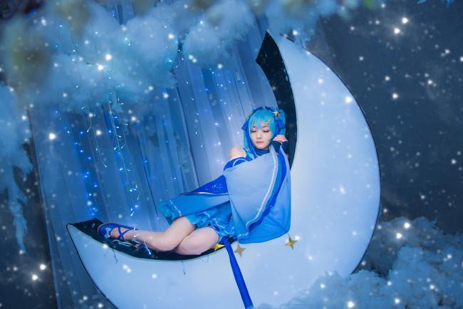 VOCALOID  初音未来  星与雪的公主  cn:蓝裳 (15P)-第6张