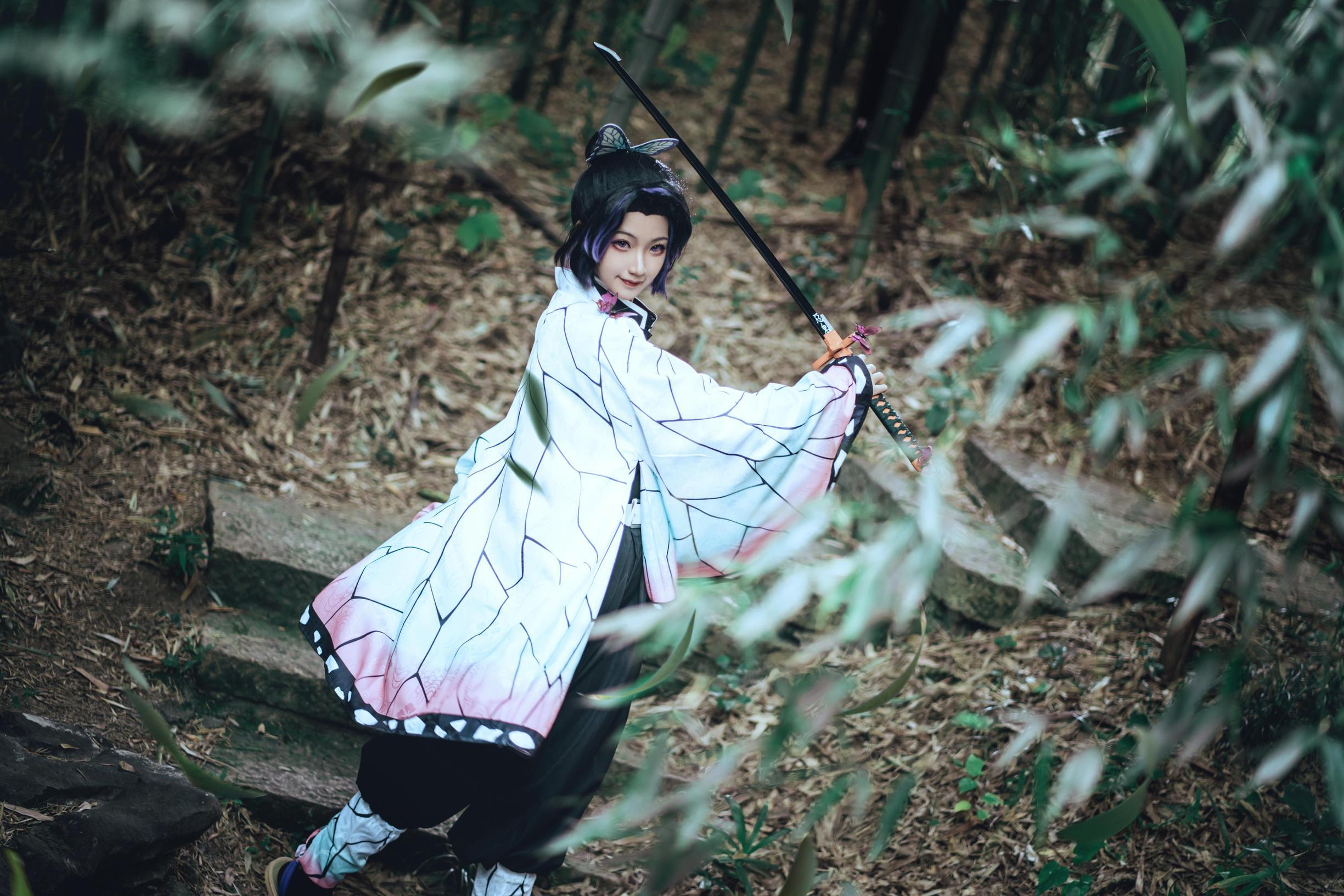 《鬼灭之刃》战士cosplay【CN:风眠眠w】-第14张