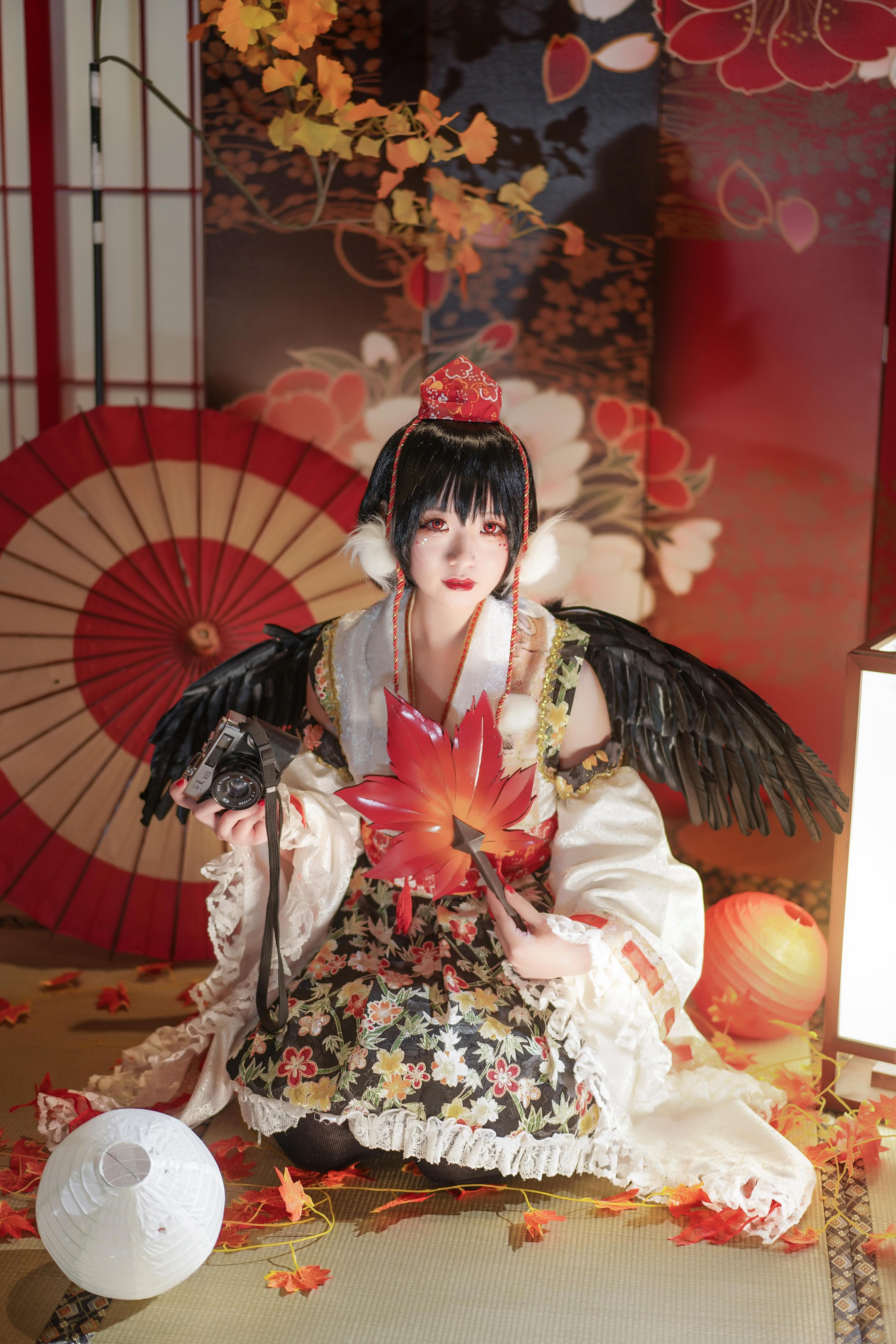 《东方PROJECT》射命丸文cosplay【CN:蓝原杏子】-第7张