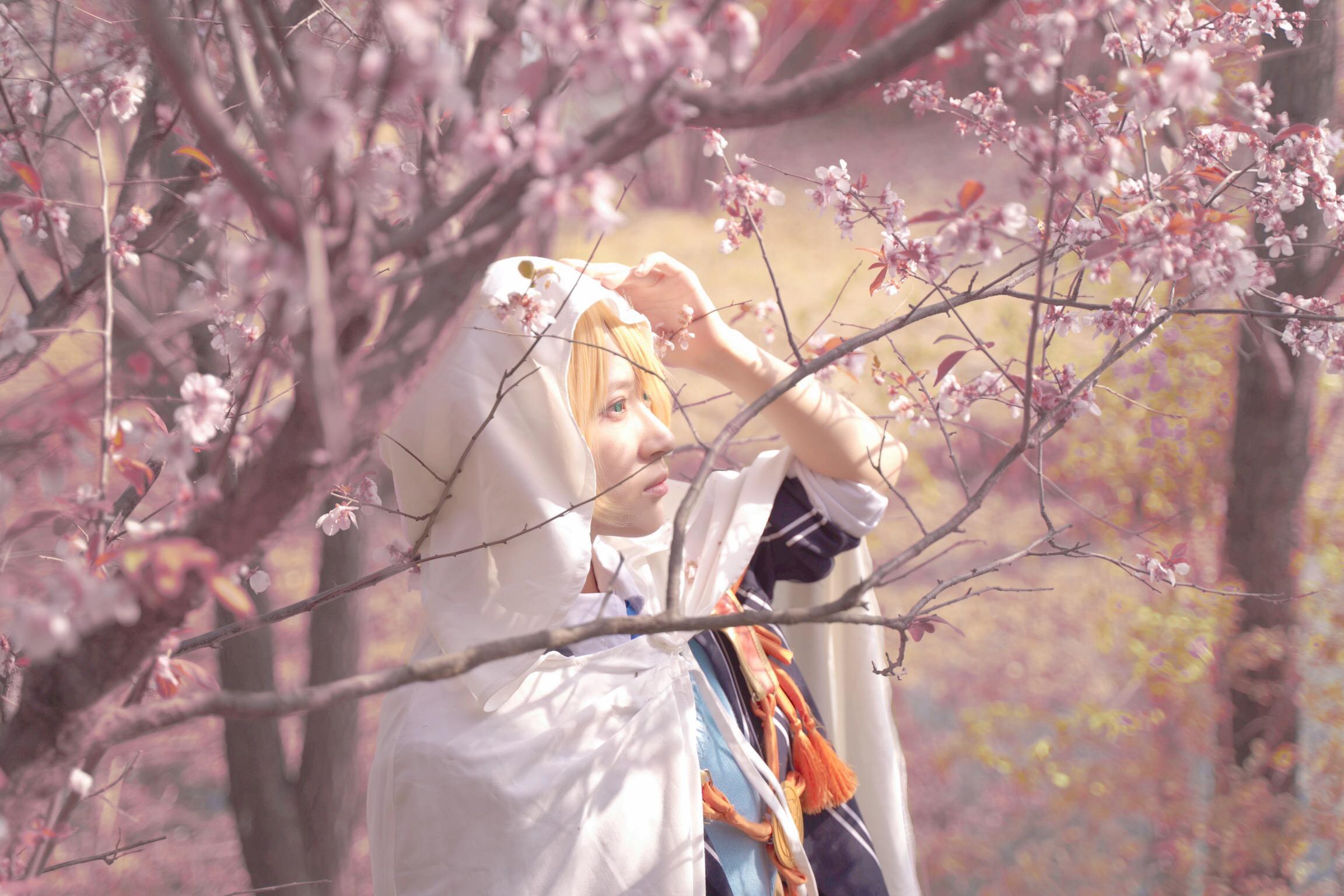 《刀剑乱舞》山姥切国广cosplay【CN:猹狸inoni】-第3张