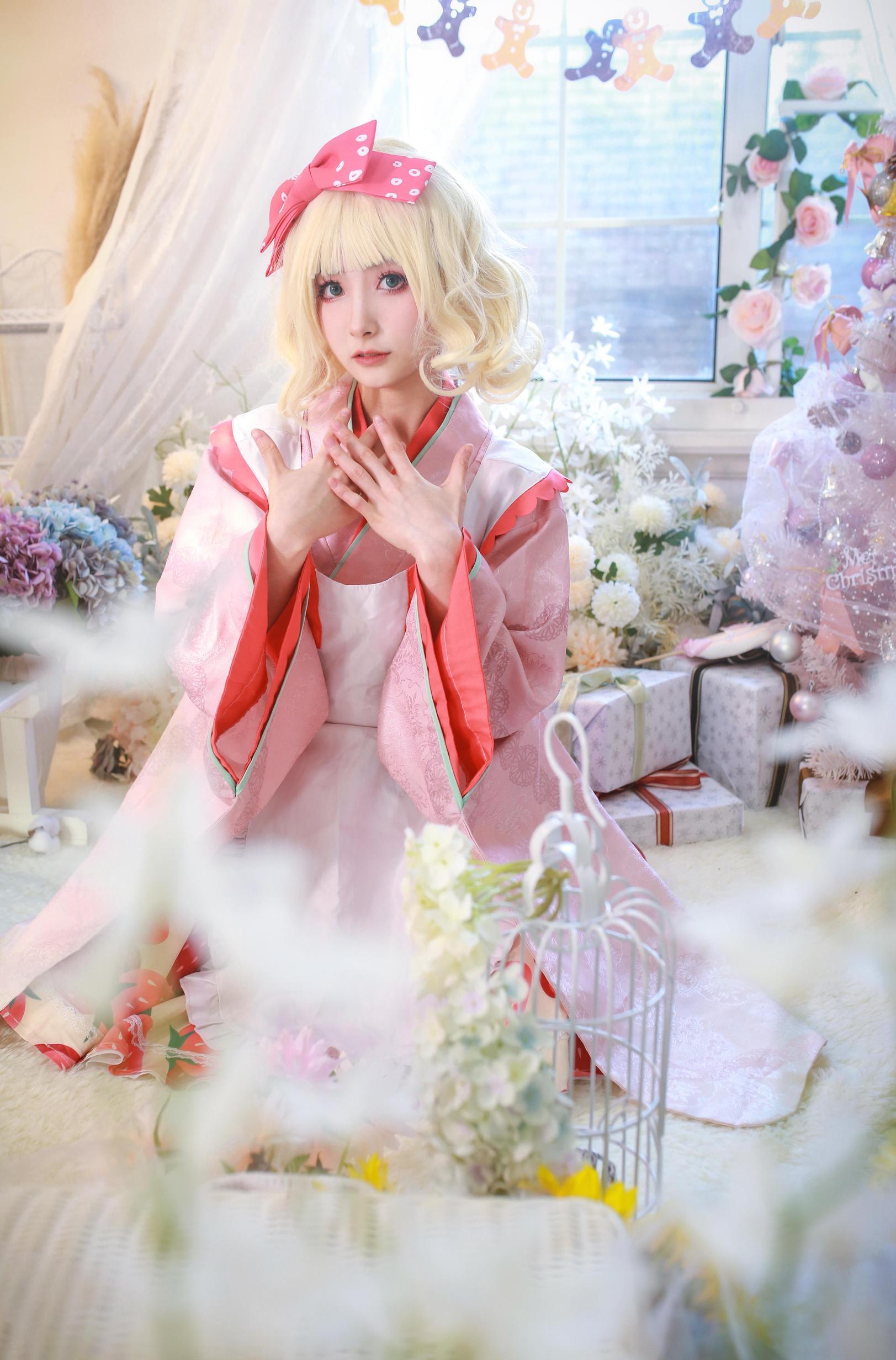 《蔷薇少女》蔷薇少女雏莓cosplay【CN:黎氿氿】-第7张