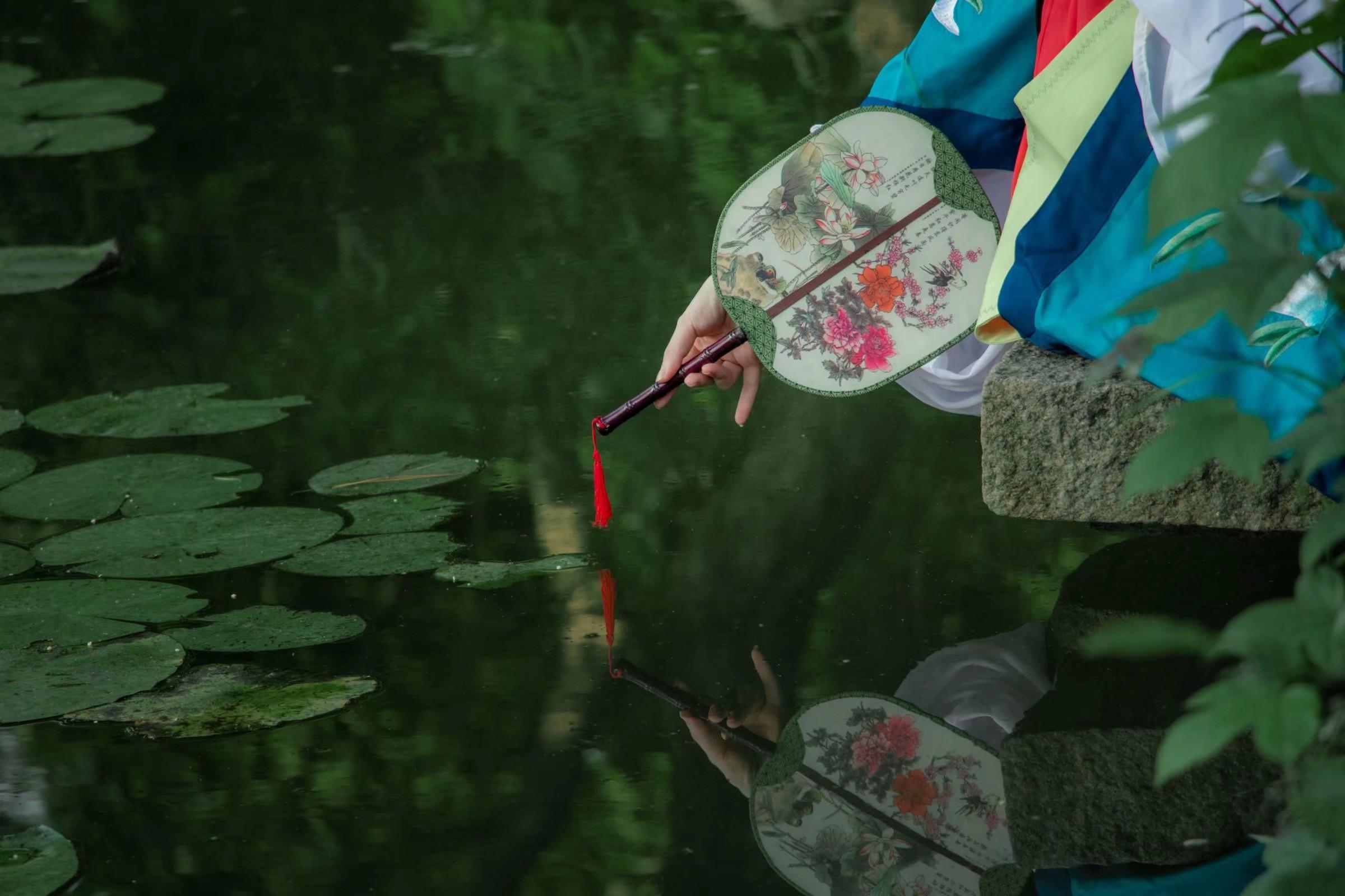 《游园惊梦》古风cosplay【CN:_仙鹤顶上红_】-第9张