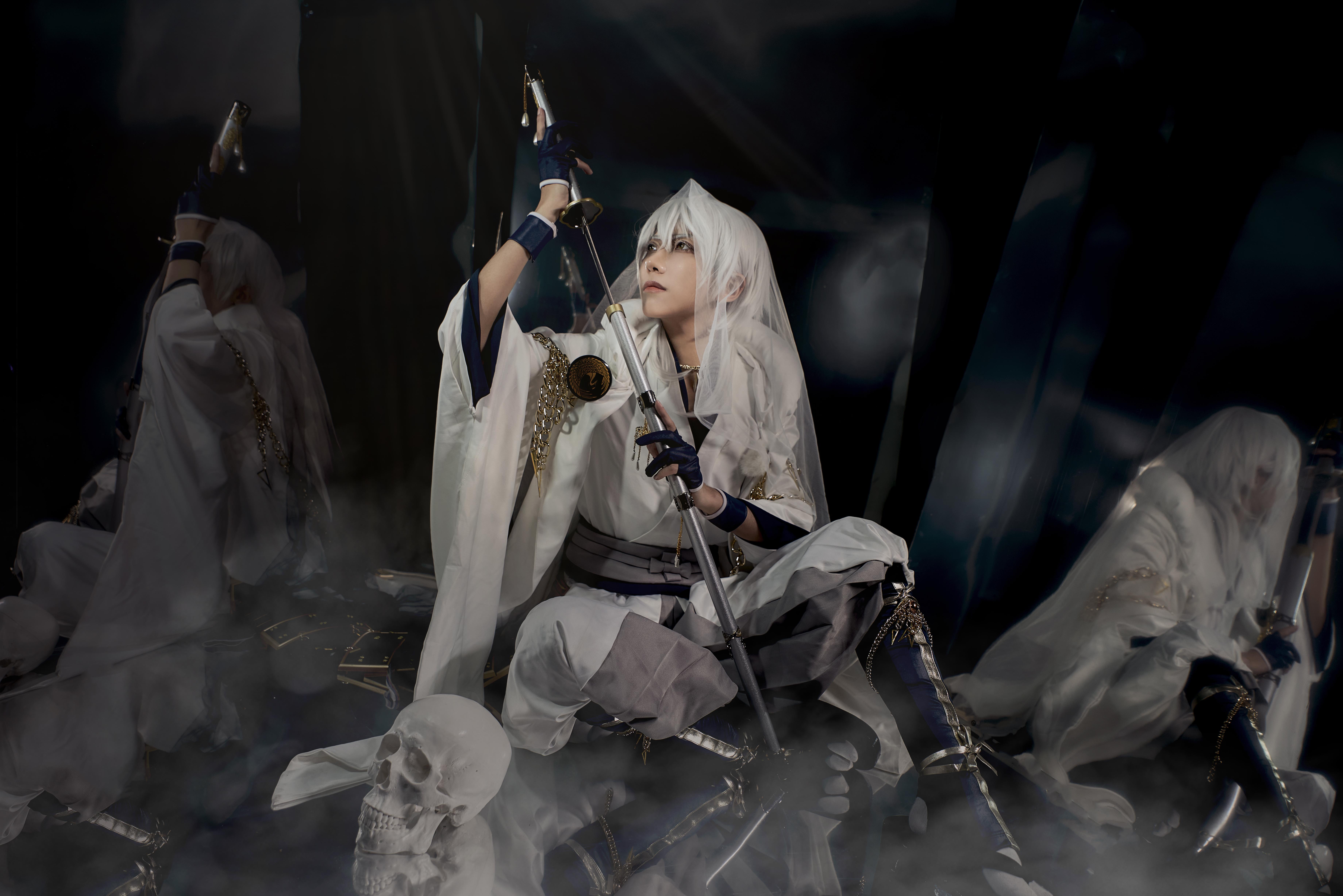 《刀剑乱舞》正片cosplay【CN:coser张国风】-第3张