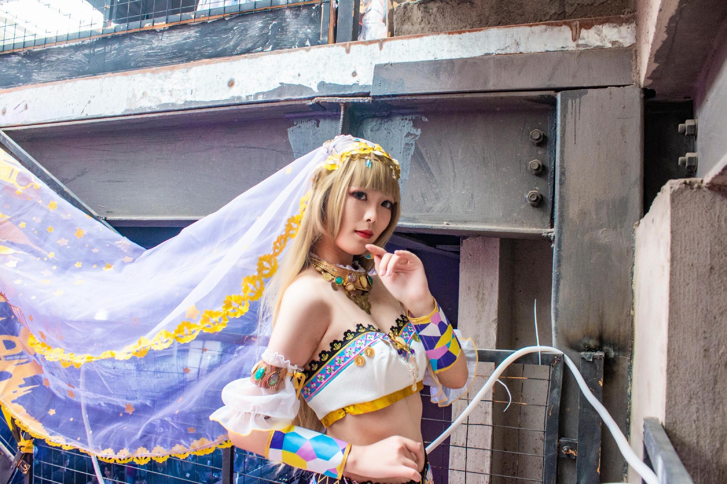 《LOVE LIVE!》漫展cosplay【CN:亦遥_林梓晕3D】-第5张