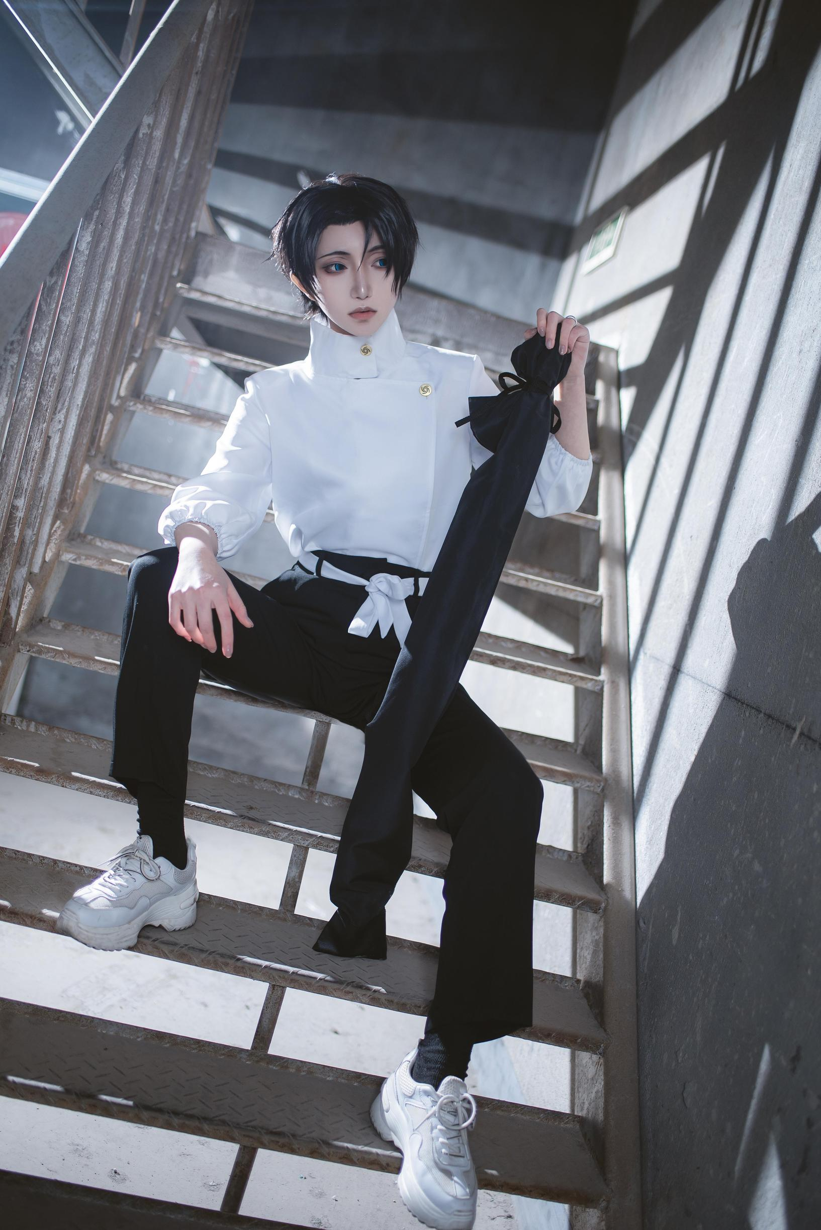 《咒术回战》正片cosplay【CN:物部弥生】-第6张