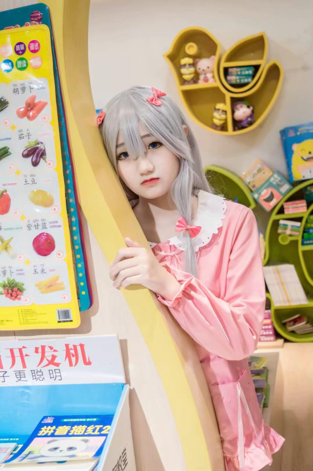 《埃罗芒阿老师》妹妹cosplay【CN:cuder】-第4张