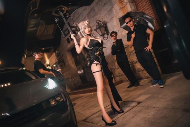 《明日方舟》黑礼服Cosplay【CN:樱岛嗷一】 (8P)-第3张