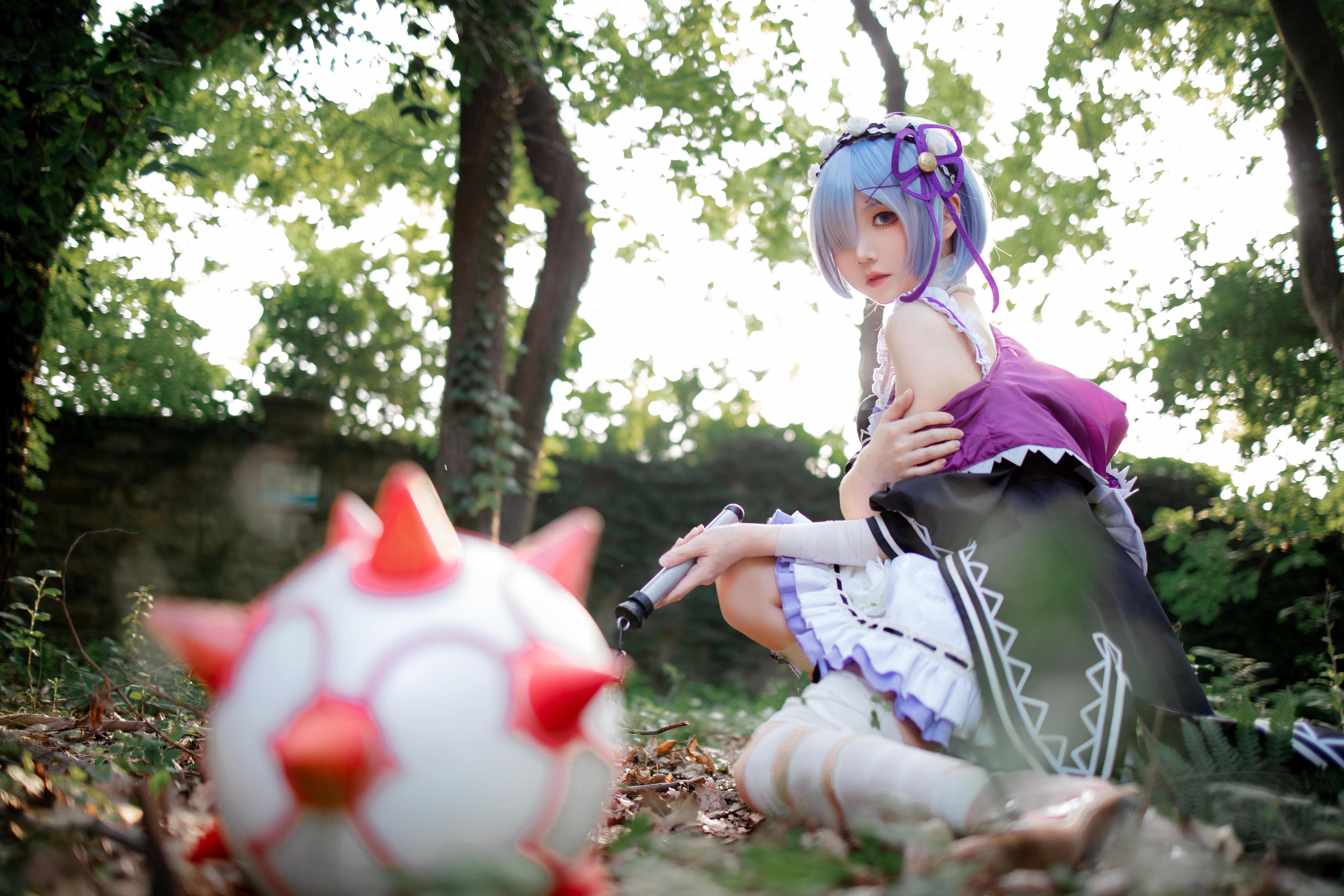 《RE:从零开始的异世界生活》蕾姆cosplay【CN:楚楚子】-第10张