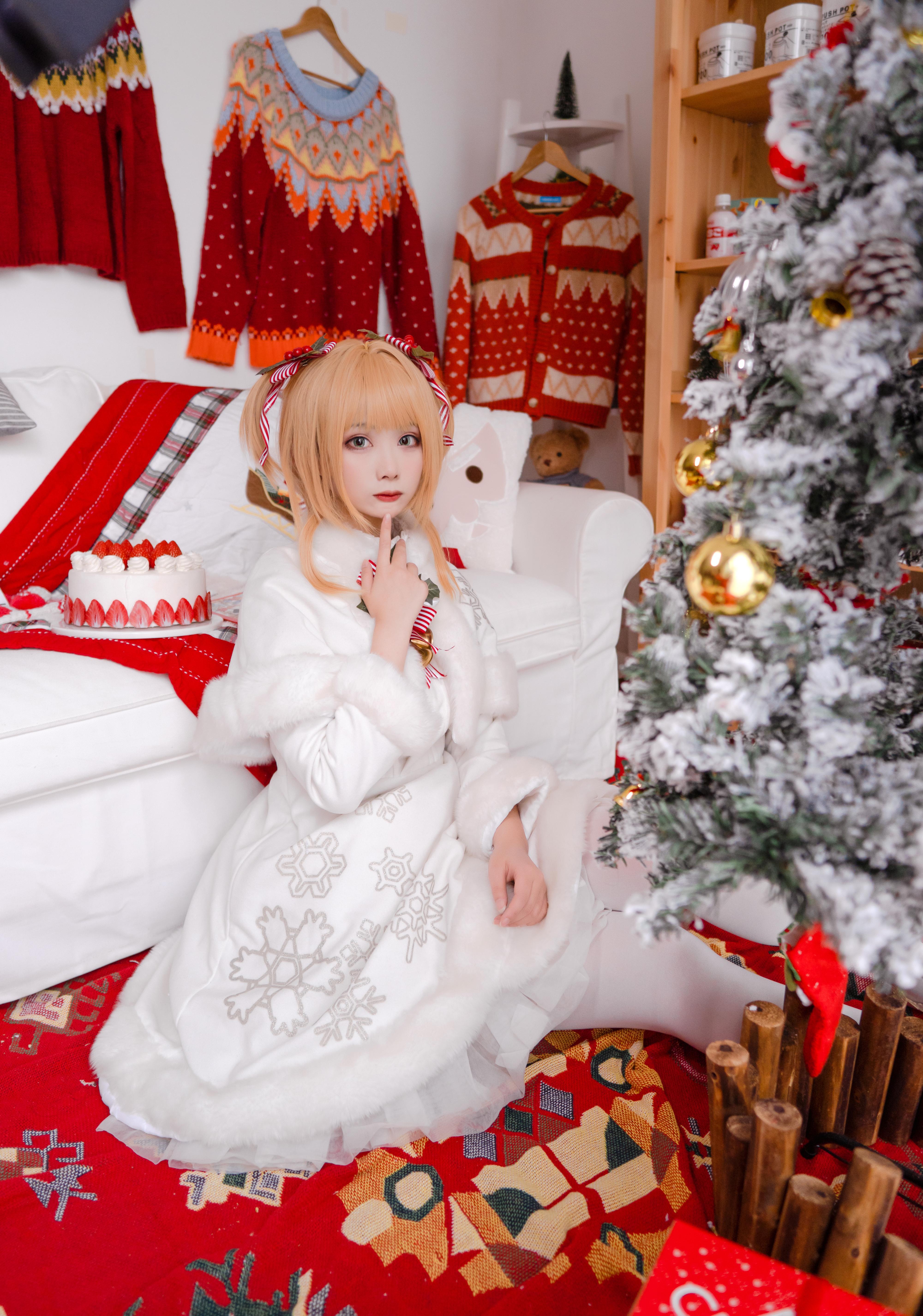 《魔卡少女樱》圣诞cosplay【CN:一X夏天X一】-第8张