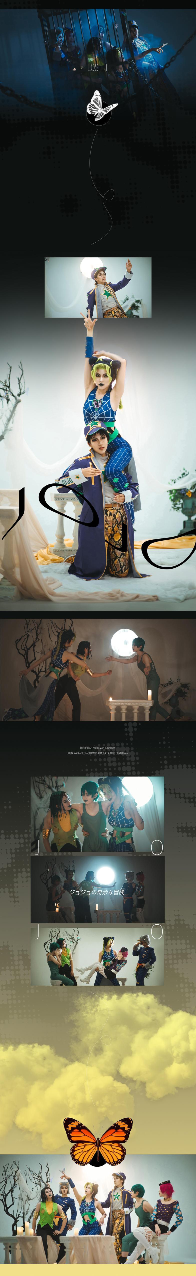 《JOJO的奇妙冒险》正片cosplay【CN:H-尚】-第9张