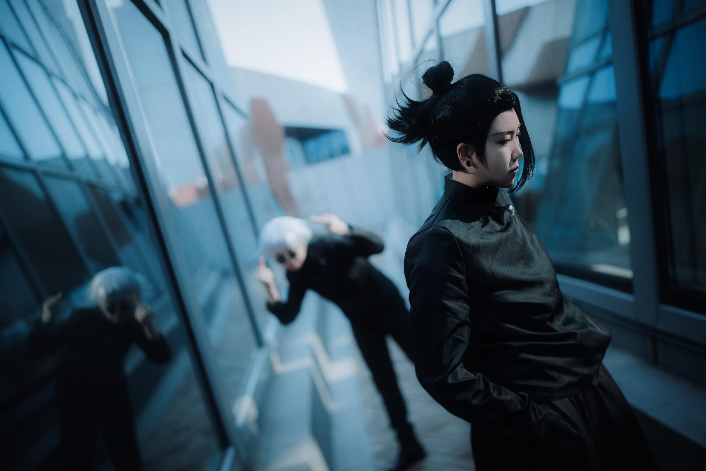 《咒术回战》正片cosplay【CN:山田馨酱】 -死神cosplay图片 唯美插图