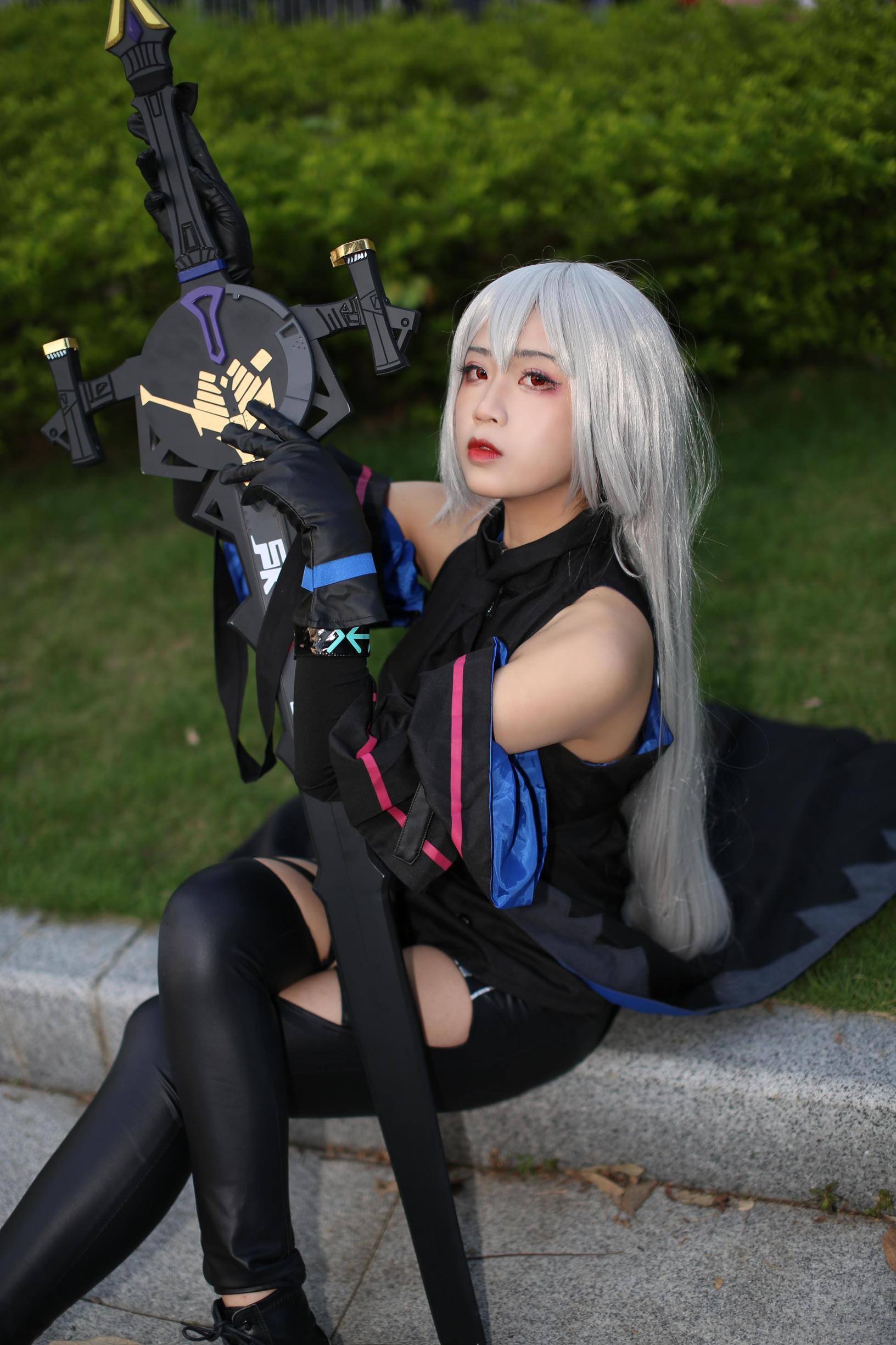 《明日方舟》漫展cosplay【CN:Futaba双叶】 -第五人格红蝶cosplay图片插图