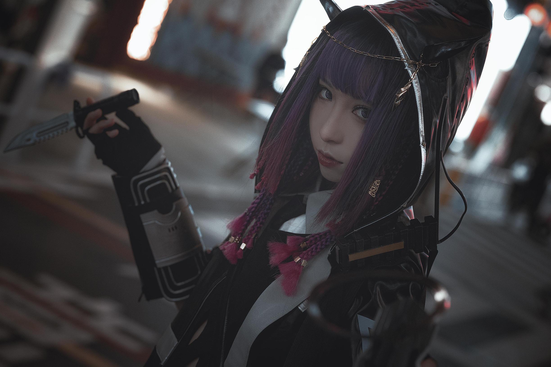 《明日方舟》游戏cosplay【CN:阿芷今天光合作用了吗】-第1张