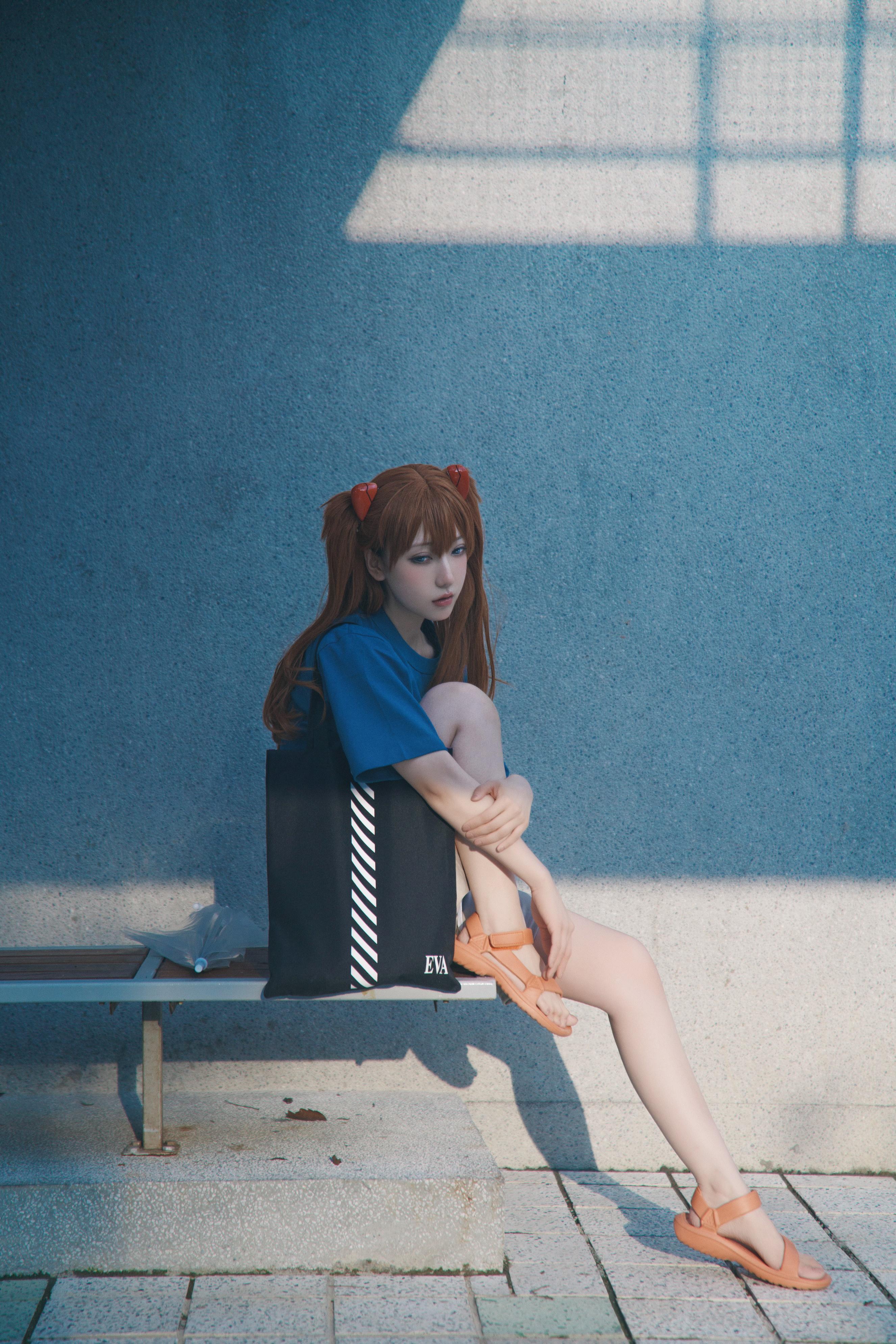 《新世纪福音战士》明日香cosplay【CN:阿凡usagi】-第9张
