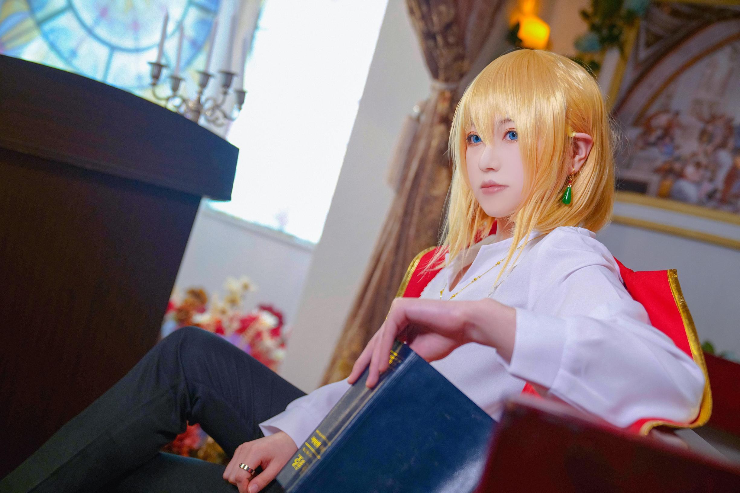 《哈尔的移动城堡》宫崎骏cosplay【CN:阿骸hai】-第8张
