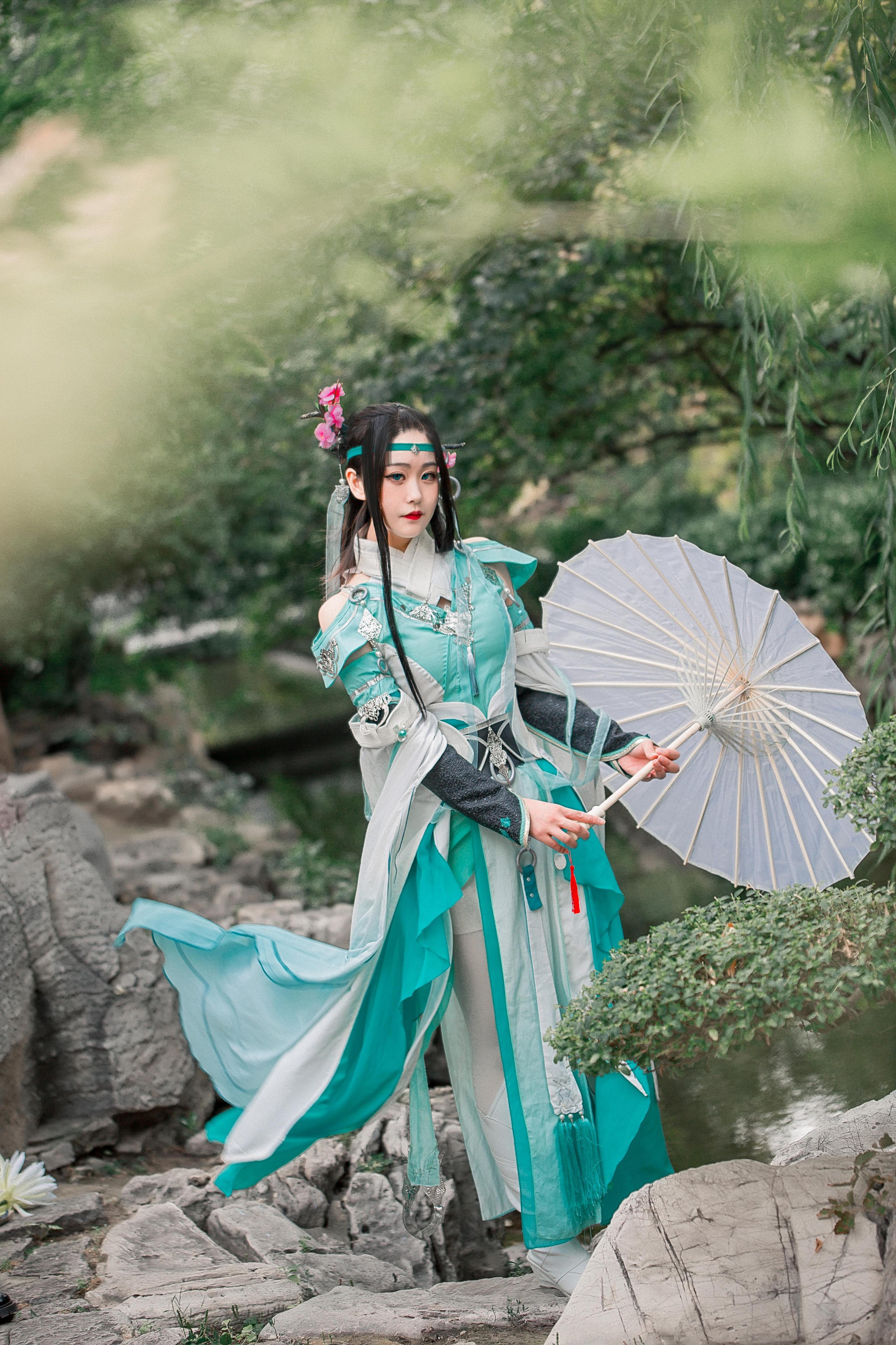《剑侠情缘网络版叁》剑三cosplay【CN:朝云SUNNA】-第8张