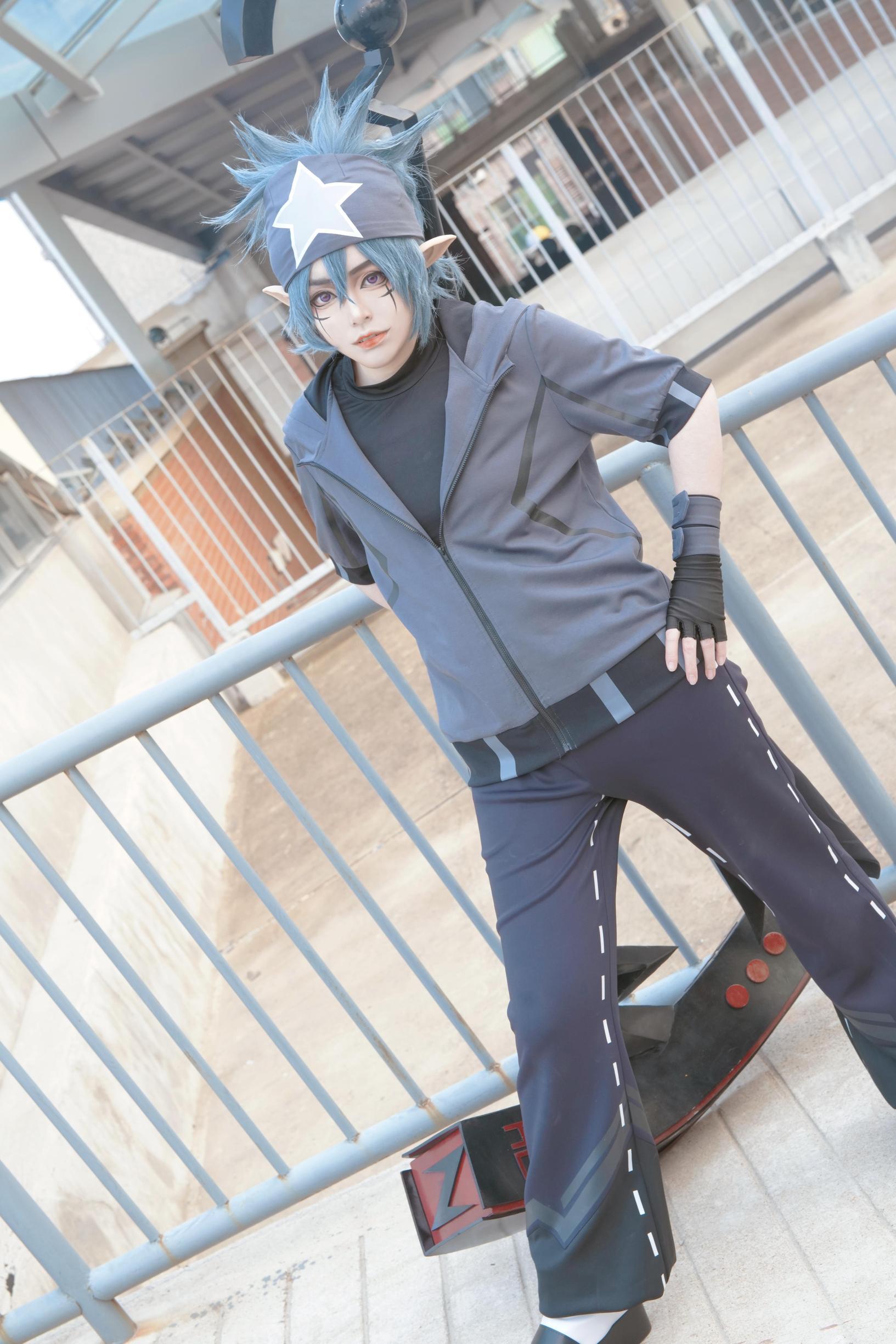 《凹凸世界》正片cosplay【CN:团子每天都要元气满满】-第4张