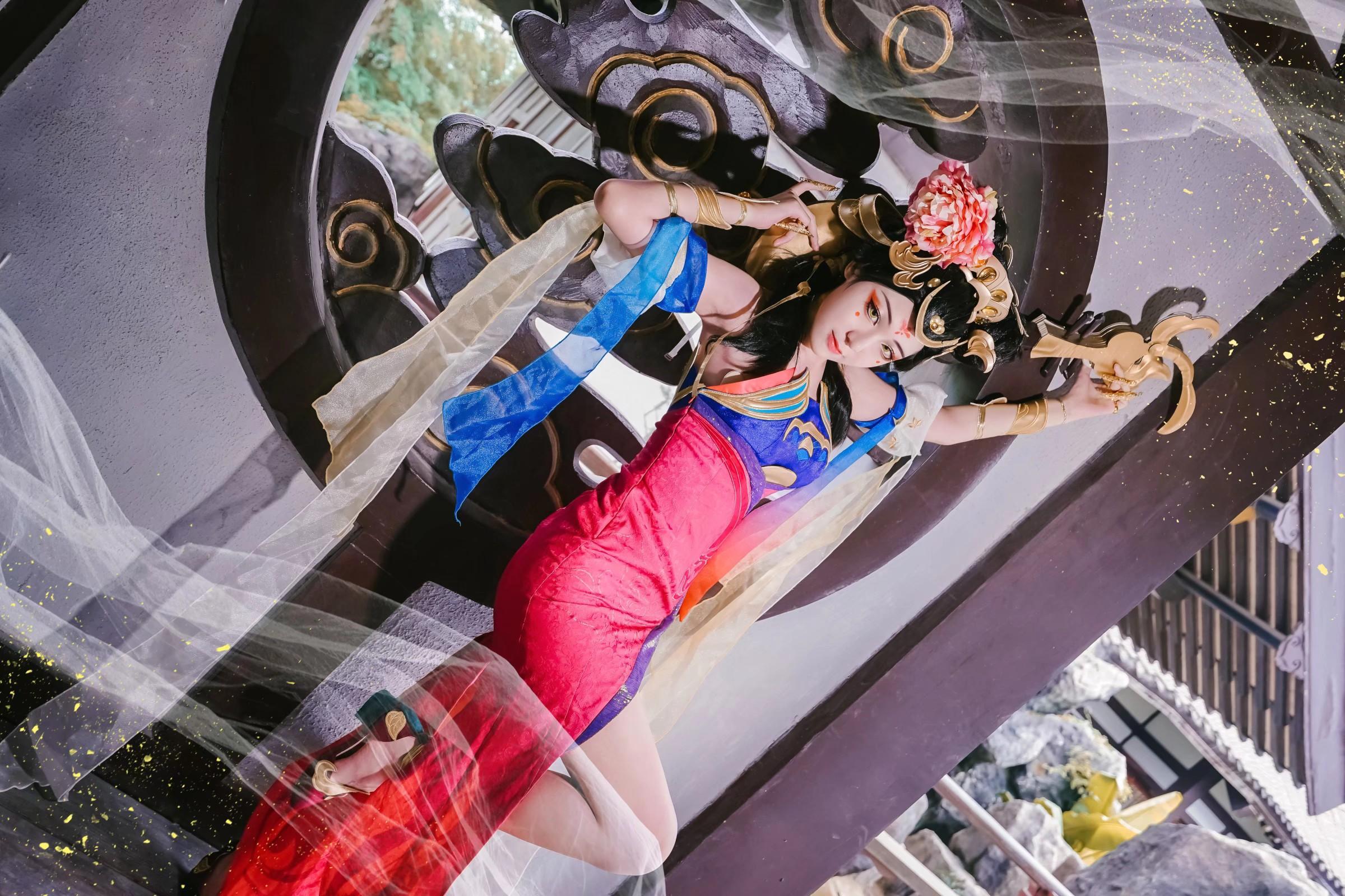 《王者荣耀》神还原cosplay【CN:-GRIS剑-】-第3张