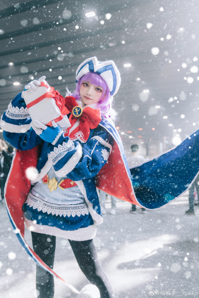 FGO   海伦娜   圣诞   @柚柚子__Yukko (9P)-第1张