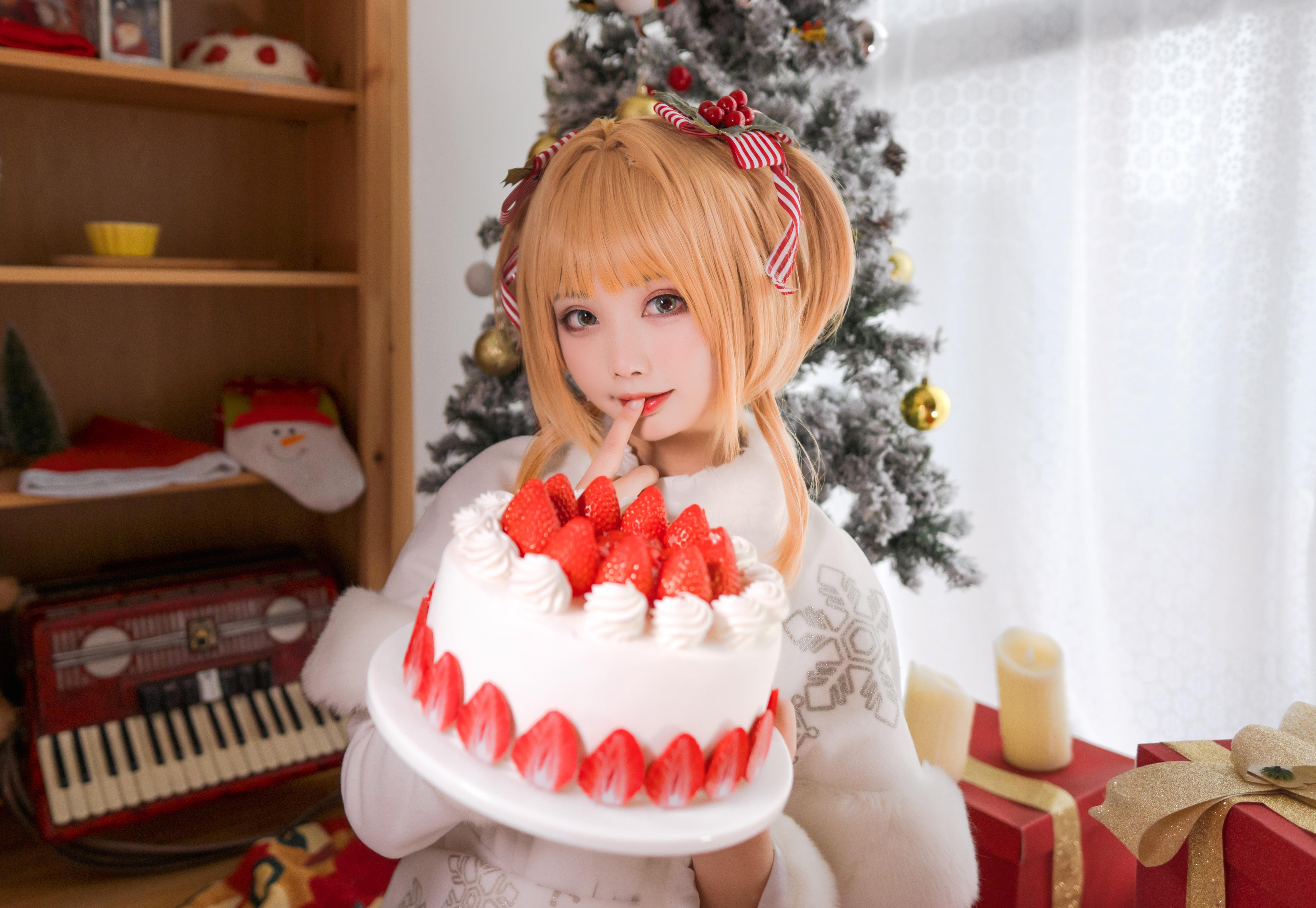 《魔卡少女樱》圣诞cosplay【CN:一X夏天X一】-第1张