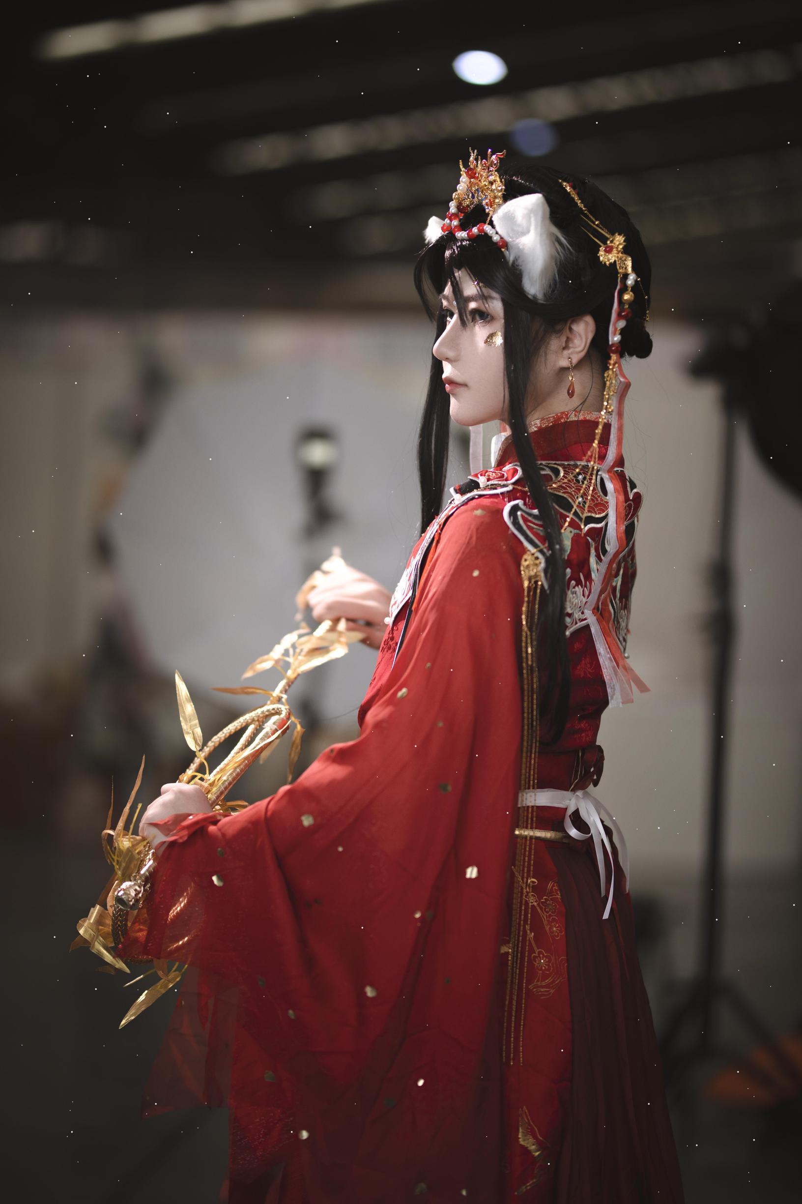 《二哈和他的白猫师尊》漫展cosplay【CN:伏九九九九】-第3张